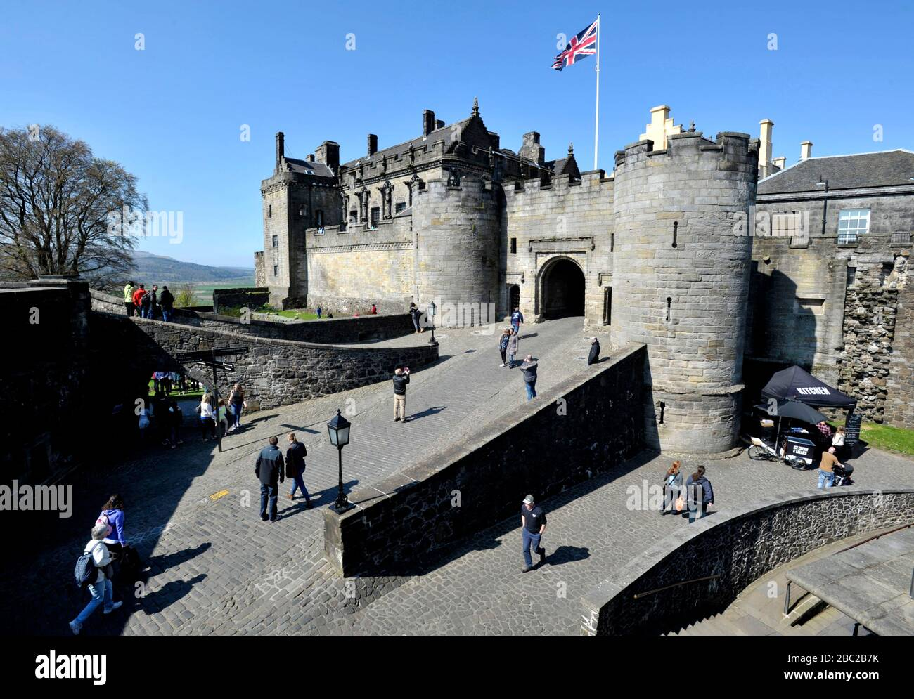 Stirling Castle, Stirling Scotland UK. Stock Photo