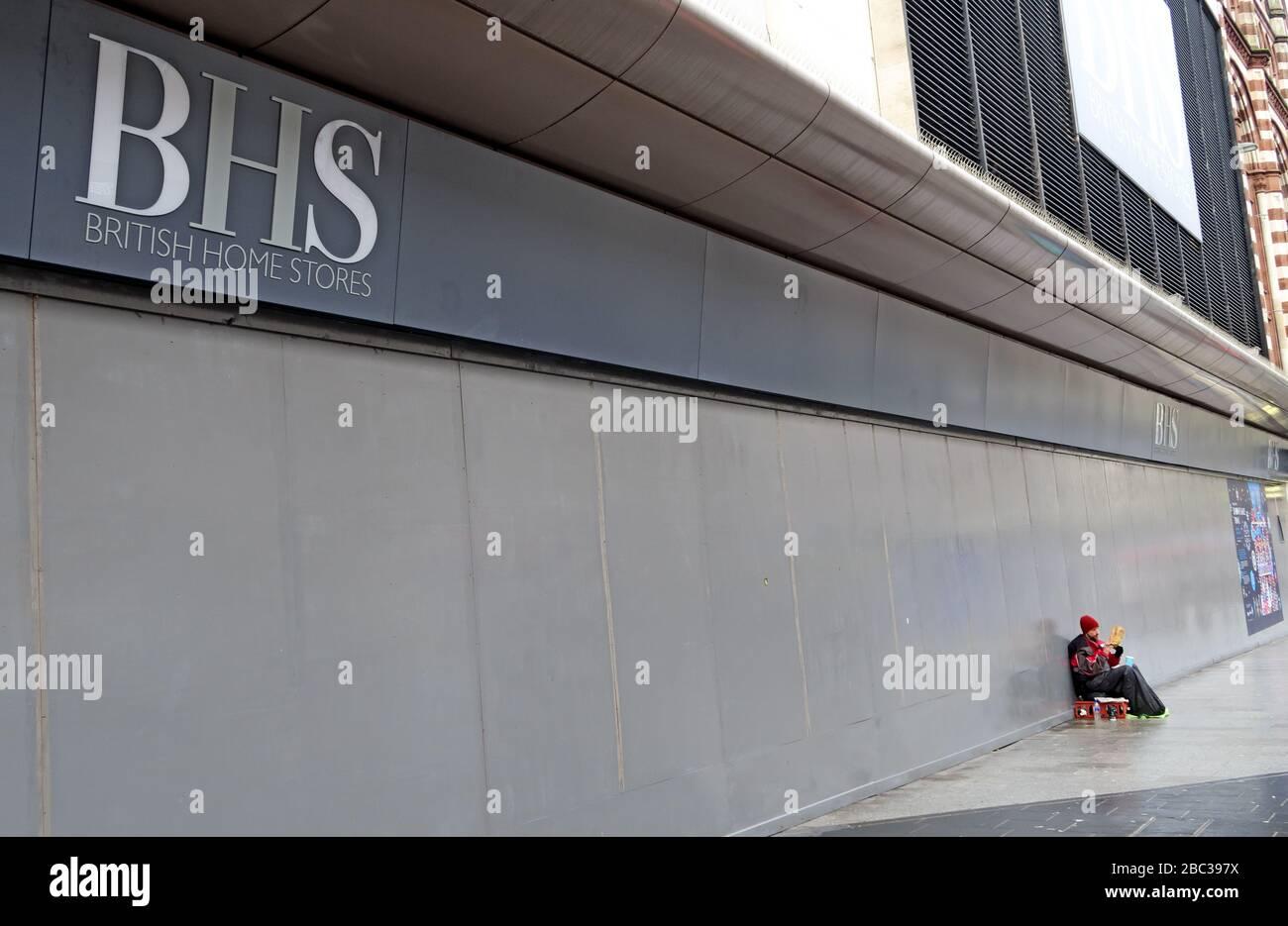 BHS, British Home stores, 67-81 Sauchiehall Street, Glasgow, Scotland, UK Stock Photo