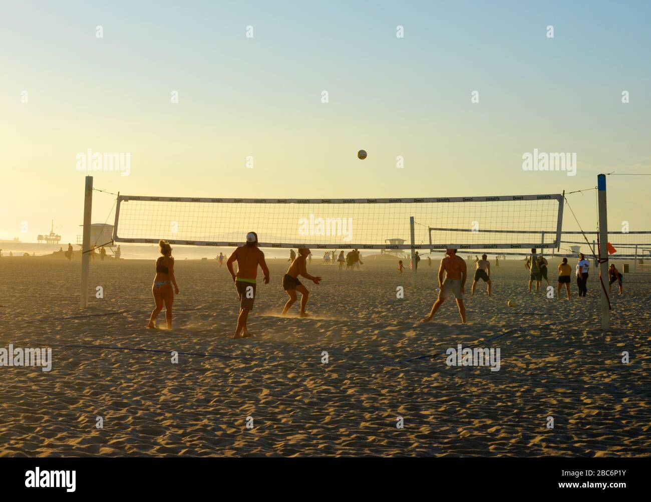Beach Landscape Beach Volley Ball High Resolution Stock Photography And Images Alamy