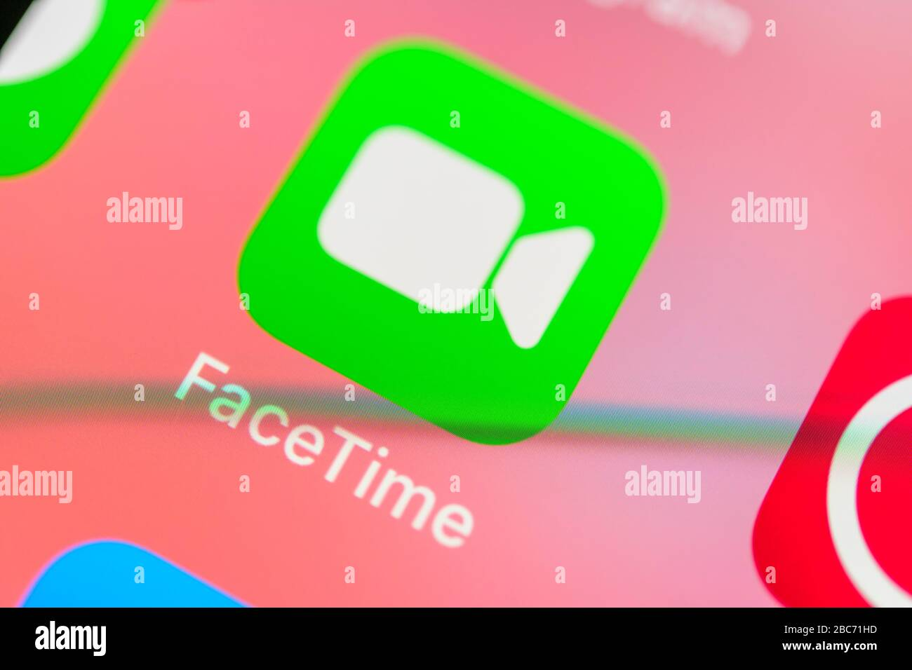 Facetime Icon High Resolution Stock Photography And Images Alamy