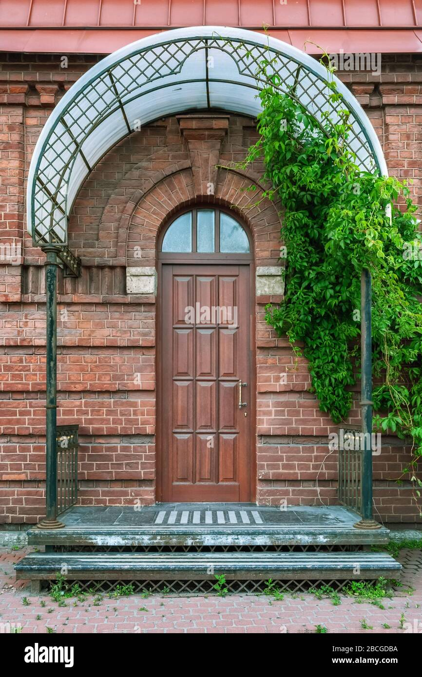 Door Canopy High Resolution Stock Photography And Images Alamy