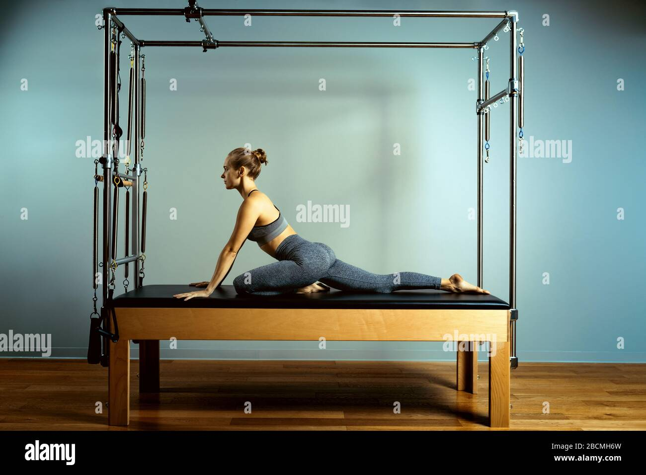 Body Art Pilates High Resolution Stock Photography And Images Alamy