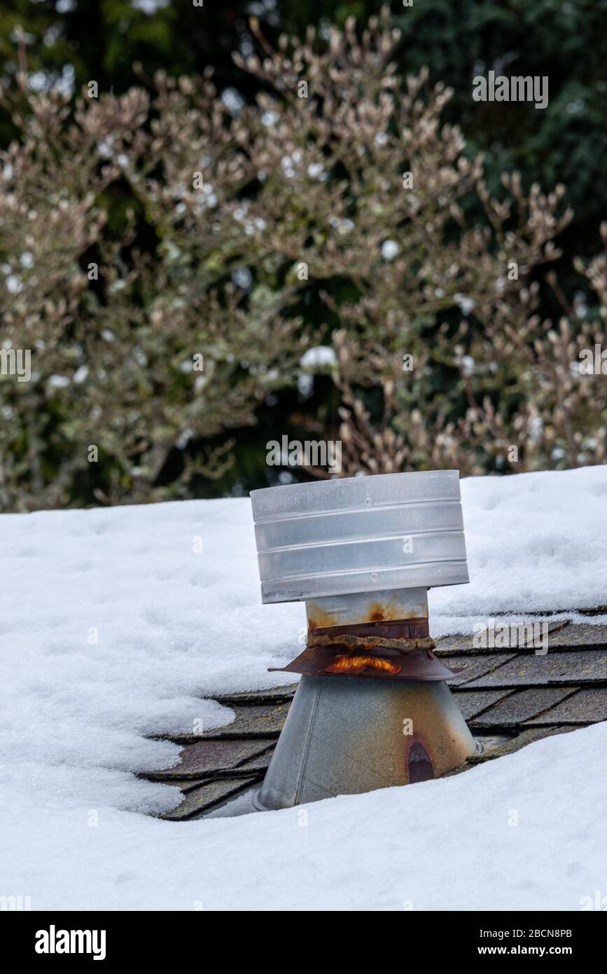 Furnace Exhaust Vent High Resolution Stock Photography And Images Alamy