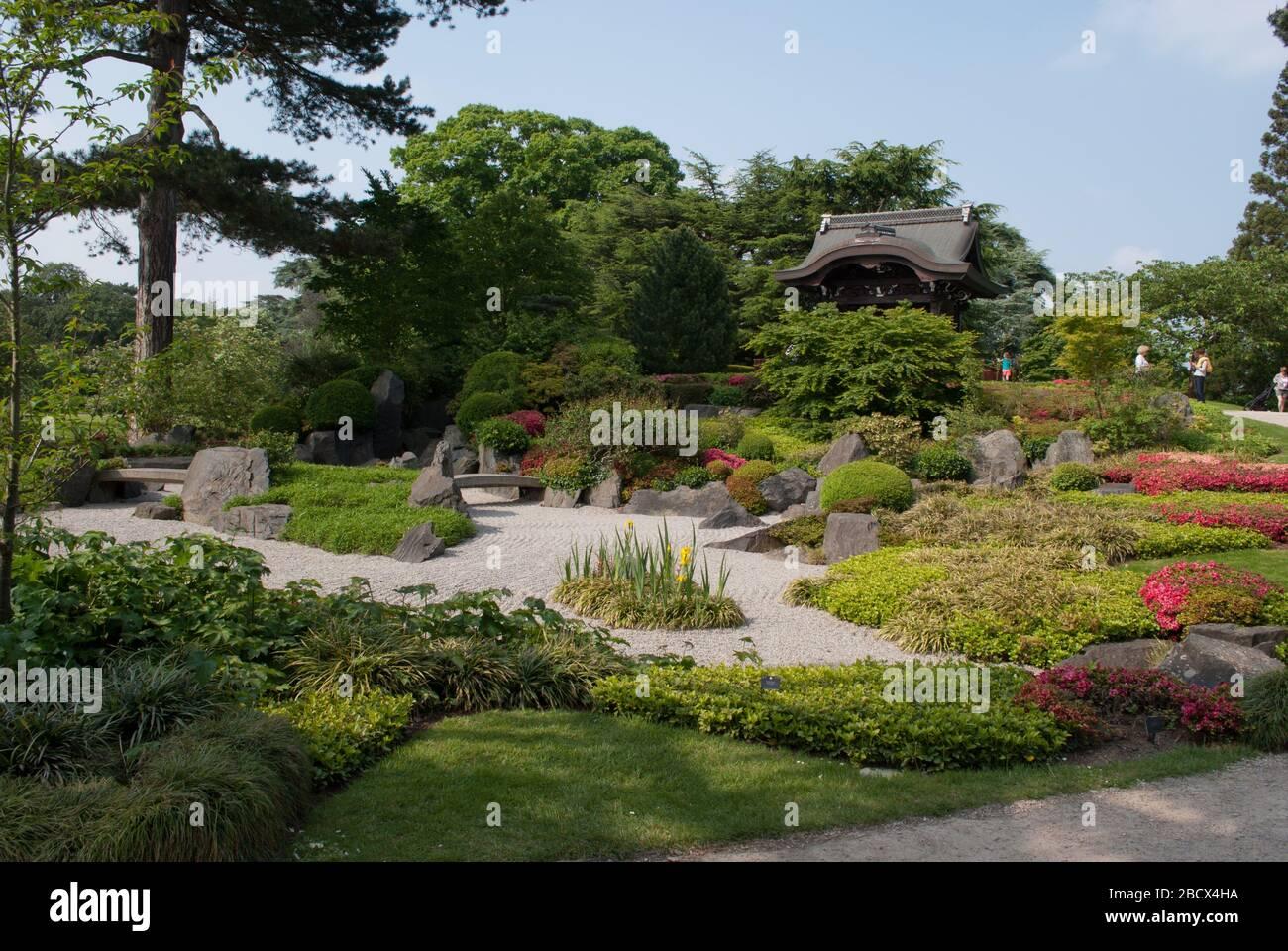 japanese garden royal botanic gardens kew gardens richmond london tw9 3ae 2BCX4HA - Kew Gardens Royal Botanic Gardens Kew Richmond Surrey Tw9 3ae