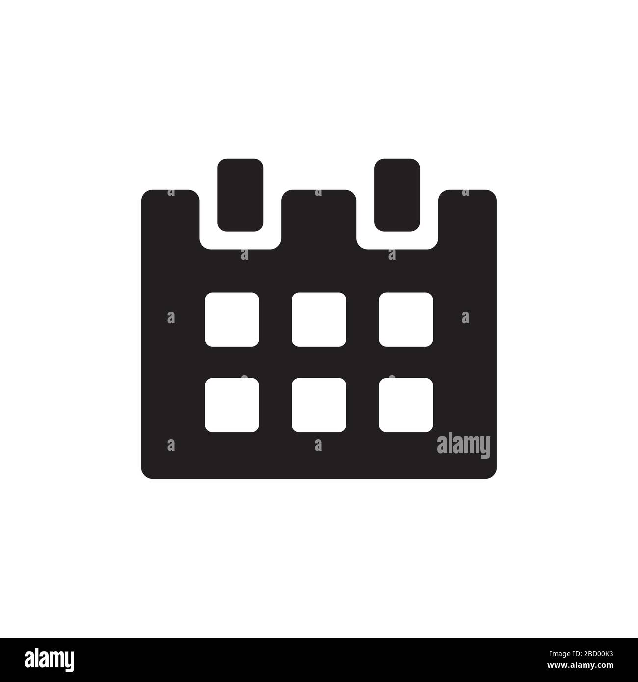 calendar , schedule icon illustration Stock Vector