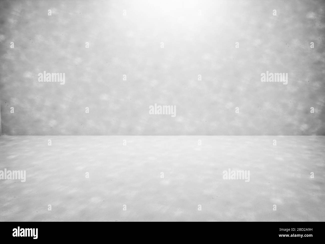 Empty modern grey gradients studio with light spot background for copy space display product of present content advertising banner product design Stock Photo