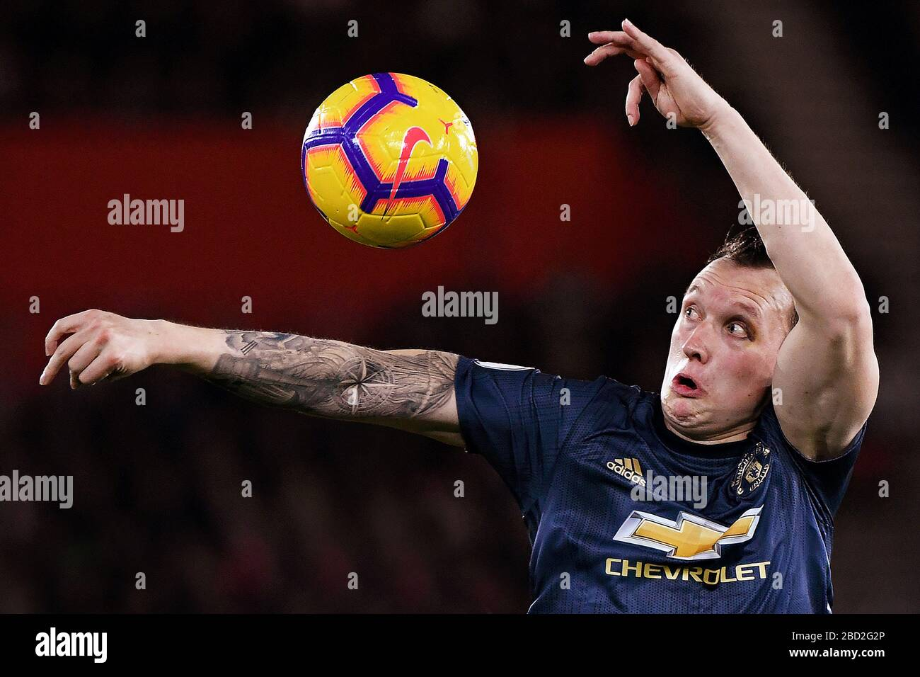 Phil Jones Manchester United Stock S & Phil Jones