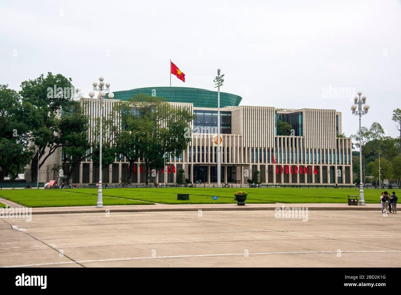 The National Assembly Building, Ba Dinh Square, Hanoi, Vietnam. Stock Photo