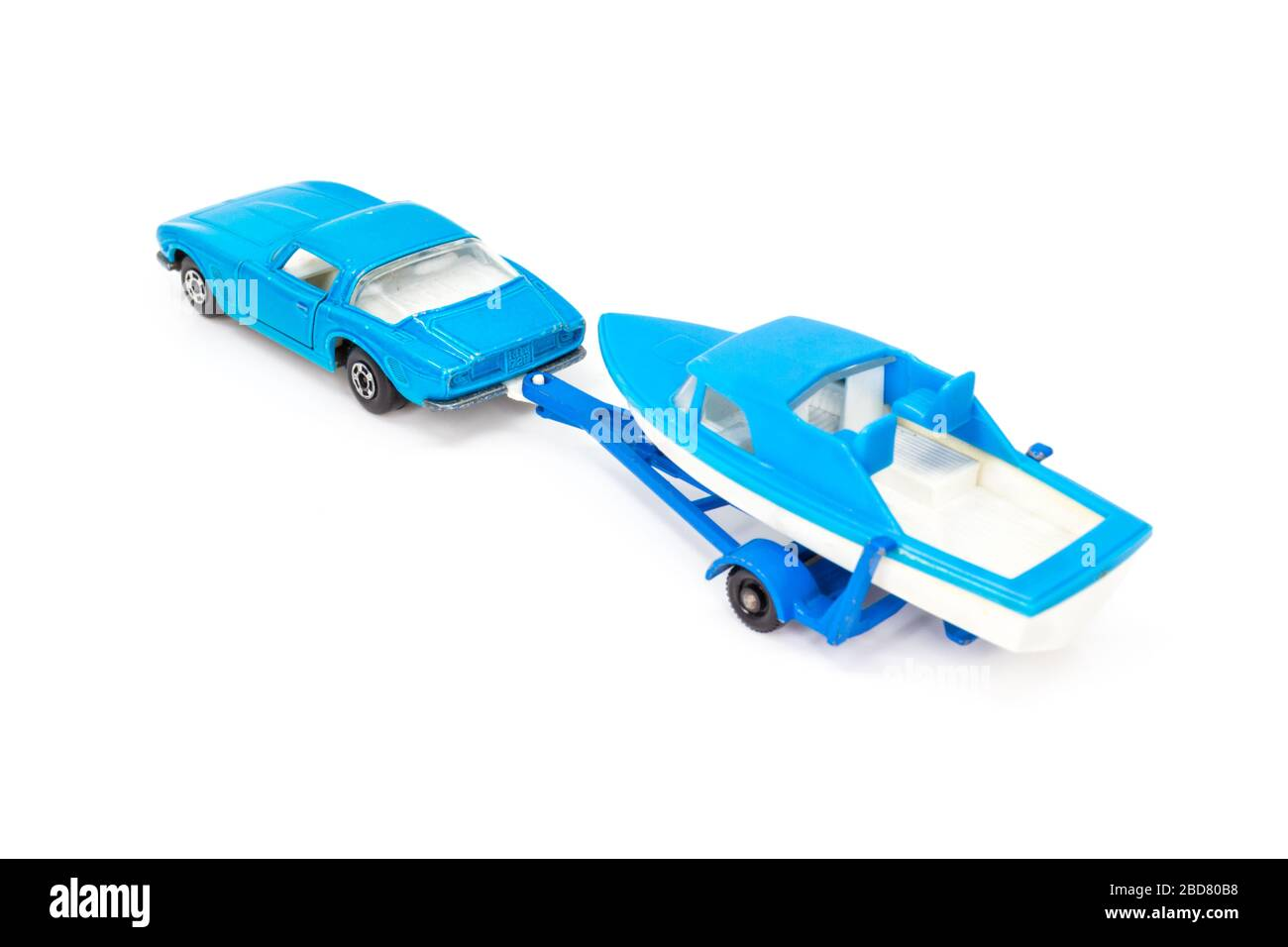 Lesney Products Matchbox model toy car 1-75 series no. Stock Photo