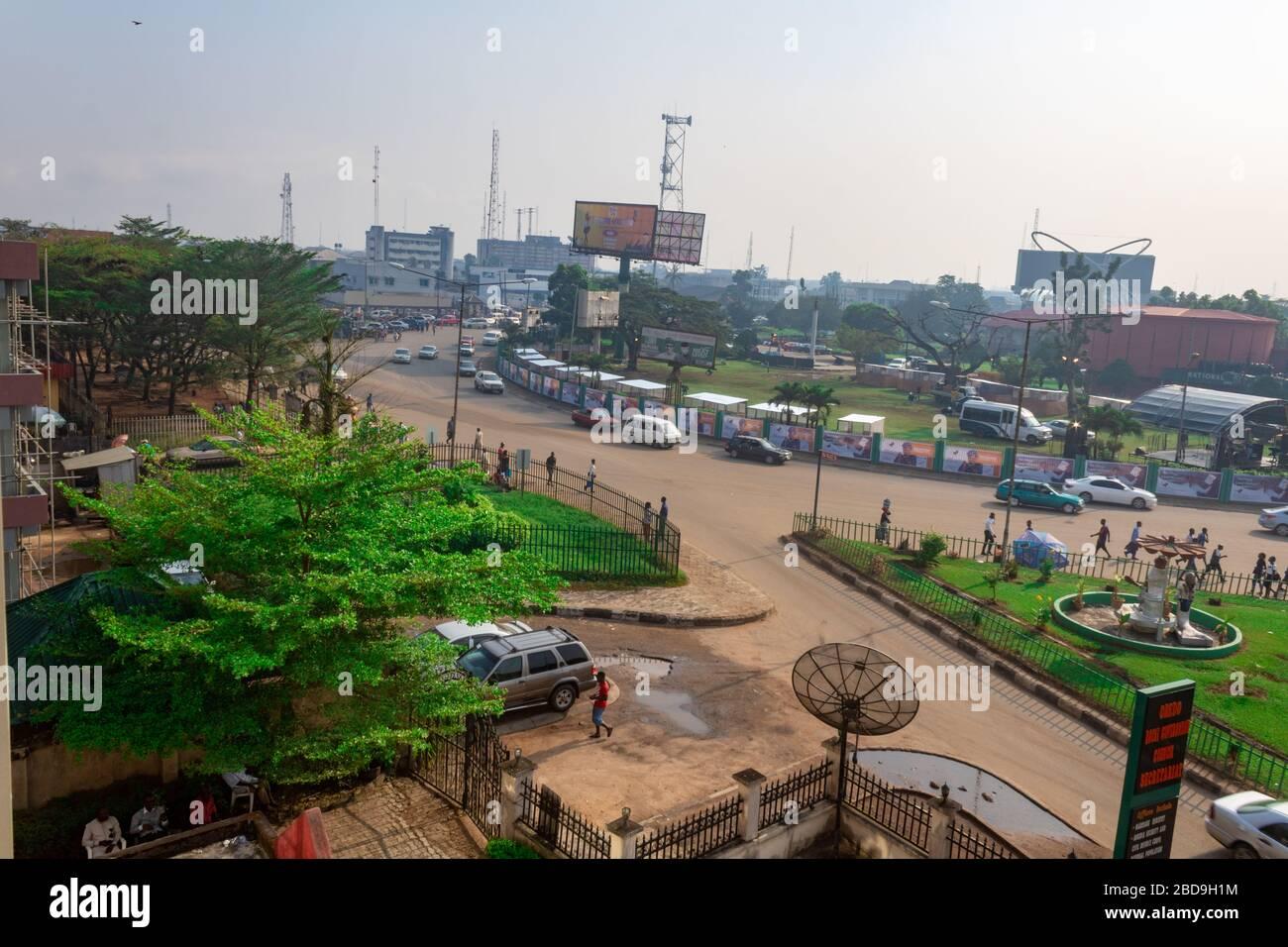 Edo nigeria ring benin state road city Edo State