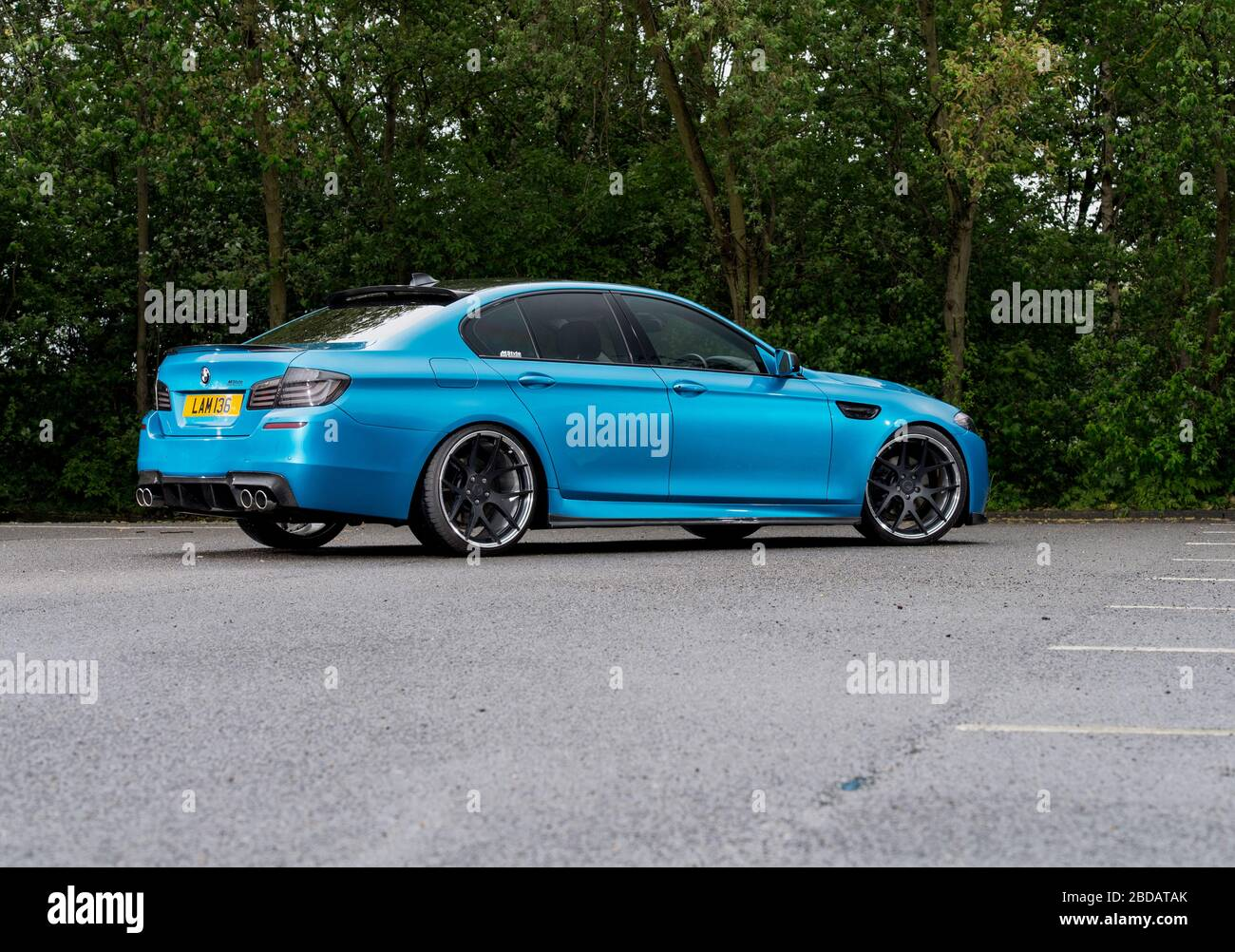 Bmw 520d High Resolution Stock Photography And Images Alamy