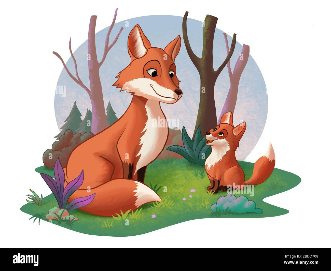 Family Relationship Cartoon High Resolution Stock Photography And Images Alamy