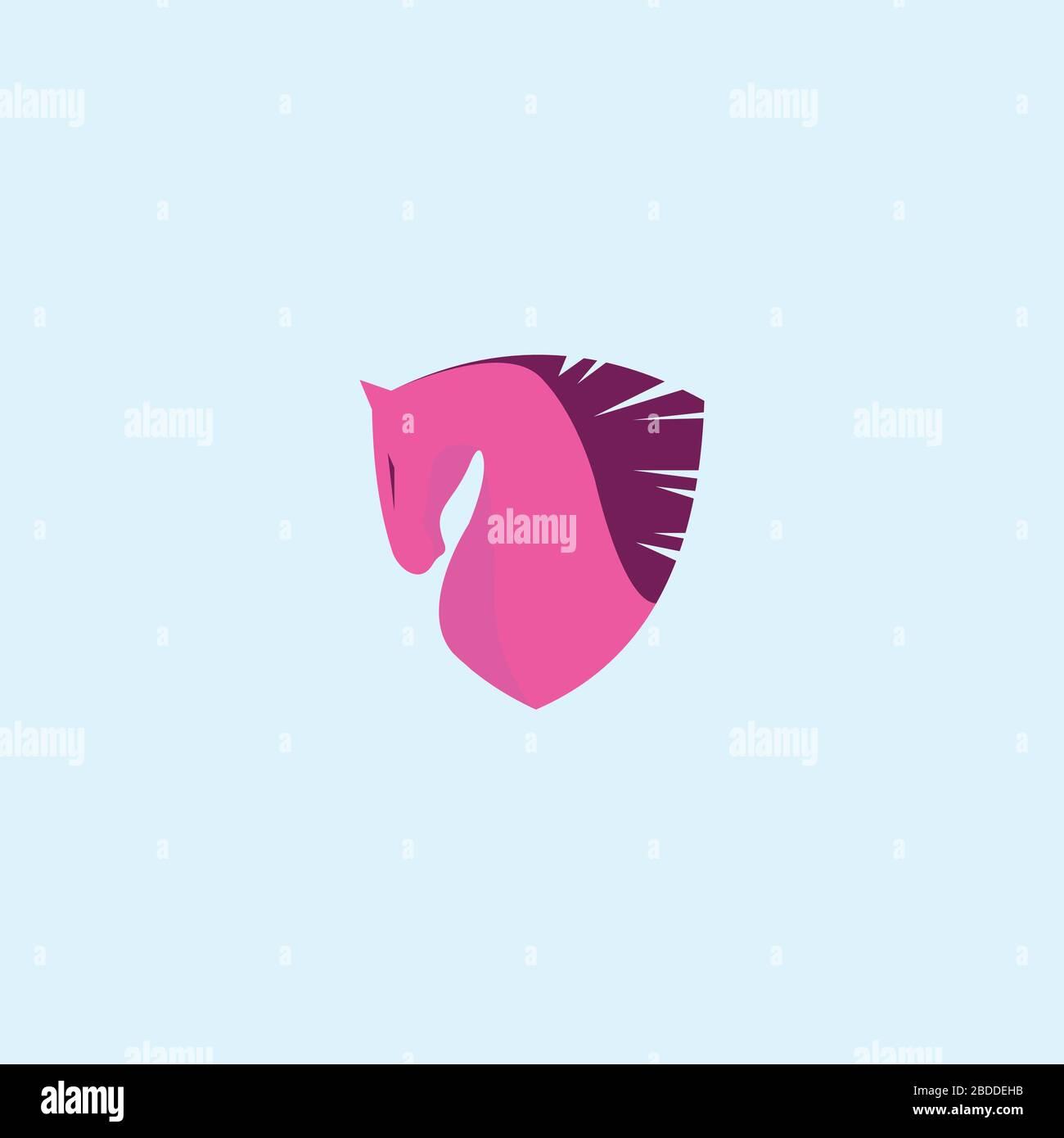 Animal Horse Logo Vector Design Template Stock Vector Image Art Alamy