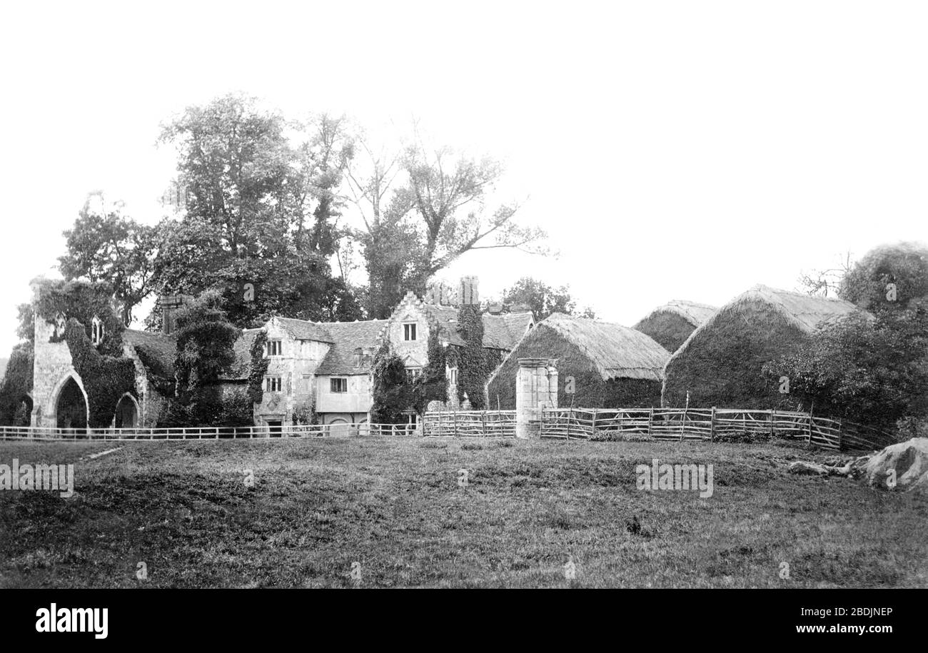 Medmenham, the Abbey 1890 Stock Photo