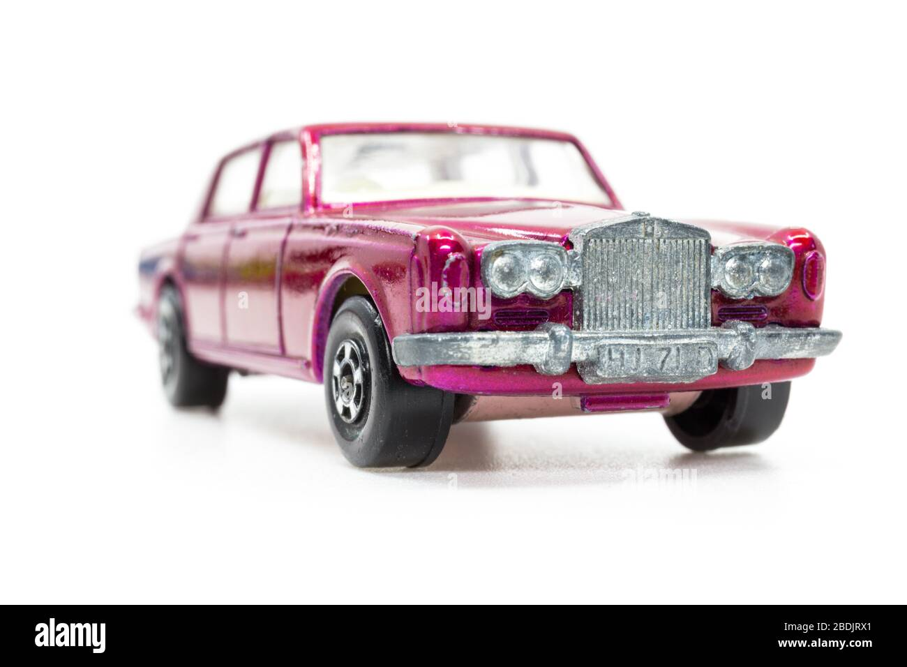 Lesney Products Matchbox Model Toy Car 1 75 Series No 24 Rolls Royce Silver Shadow Stock Photo Alamy