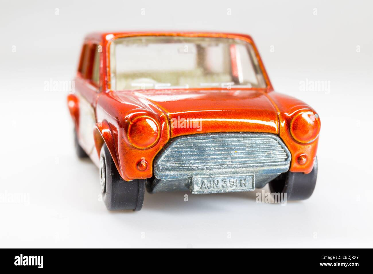 Lesney Products Matchbox model toy car 1-75 series no.29 Racing Mini Stock Photo