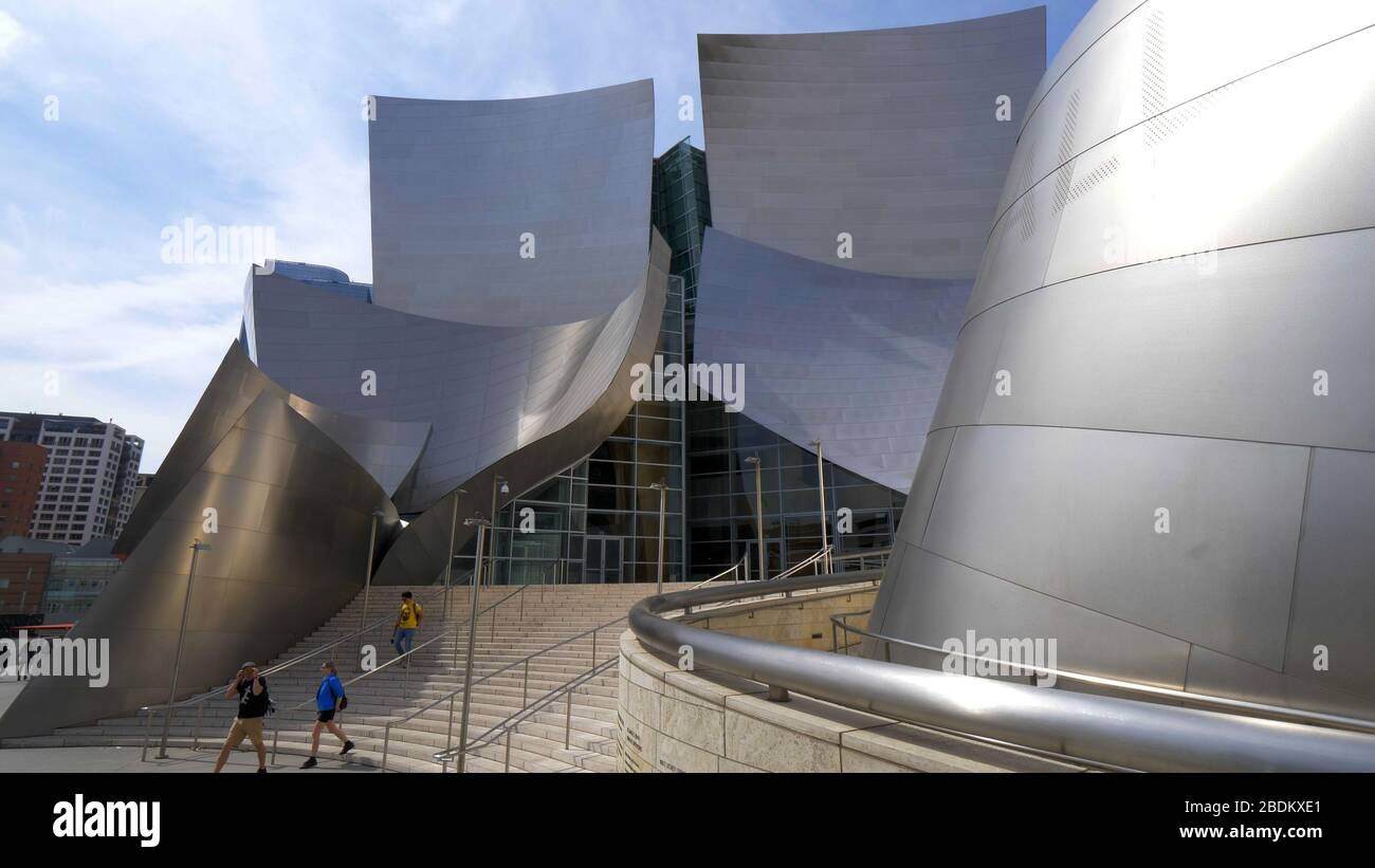 Modern Architecture Los Angeles modern architecture of disney concert hall in los angeles