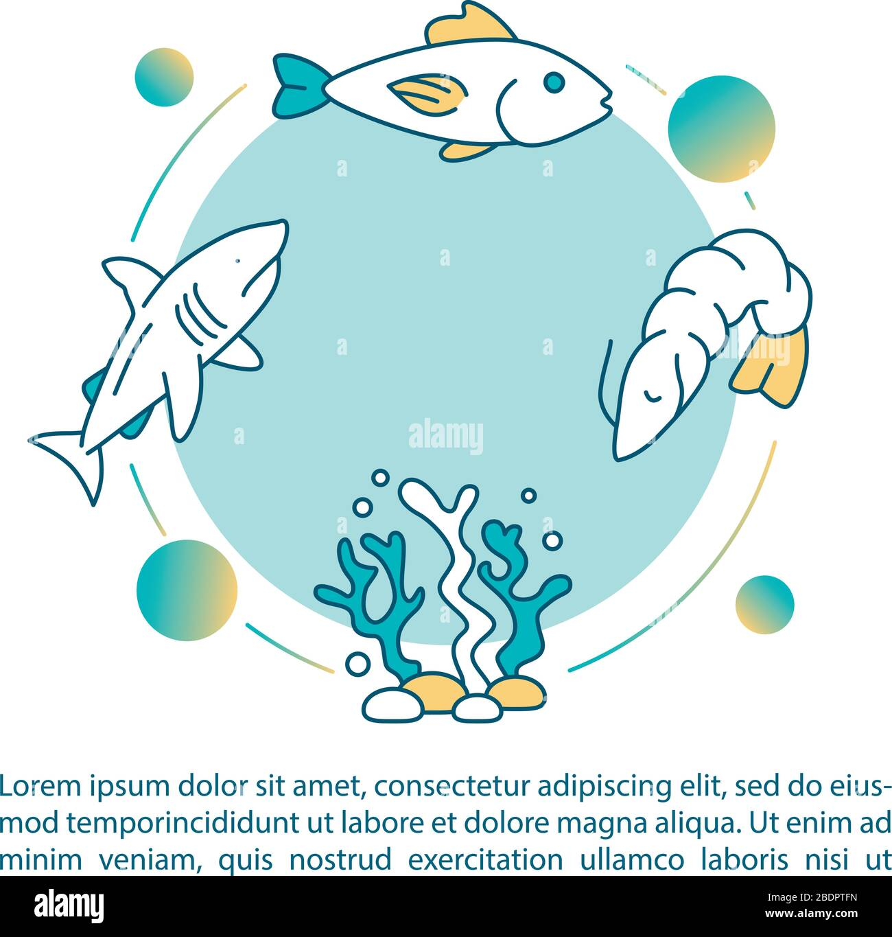 Aquatic Food Chain Concept Icon With Text Seaweed Plankton And Fish Ecological Modeling Ppt Page Vector Template Brochure Magazine Booklet Stock Vector Image Art Alamy