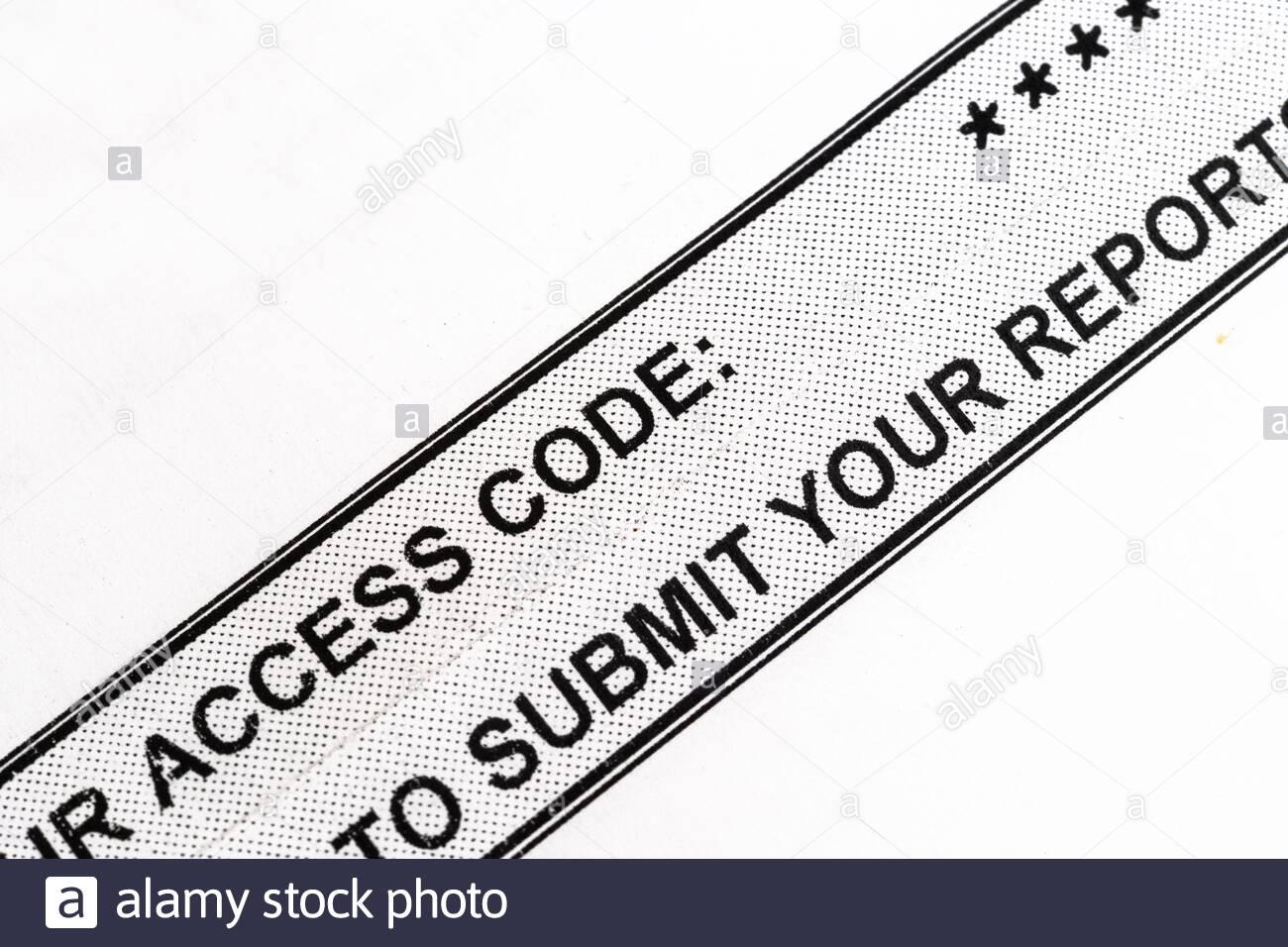 Access Code To The Canada Employment Insurance Amid The Coronavirus Or Covid 19 Stock Photo Alamy
