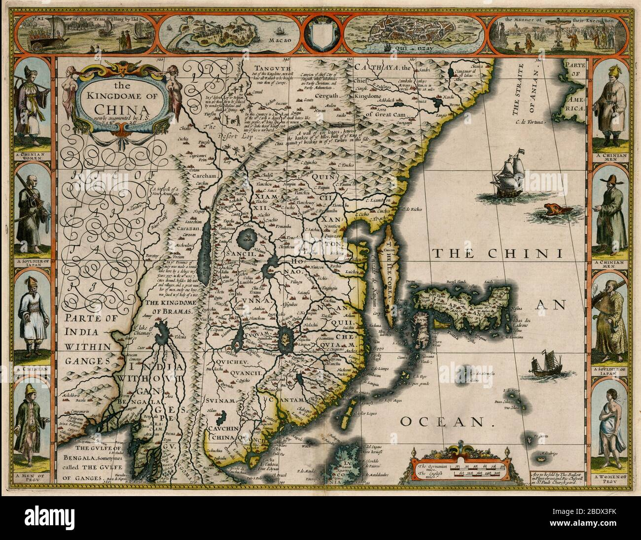 OLD COUNTY MAP OF DORSETSHIRE 1611 BY JOHN SPEED
