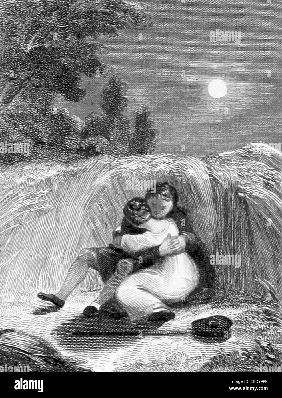 Valentine's Day, 1811 Stock Photo
