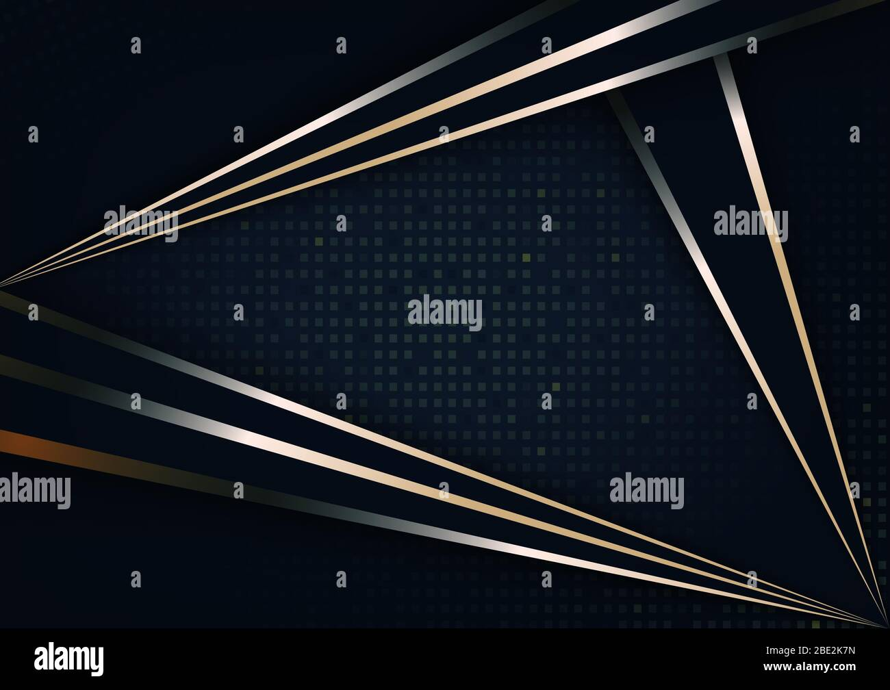 Dark Abstract Wallpaper With Gold Glitter With Black Background Stock Photo Alamy