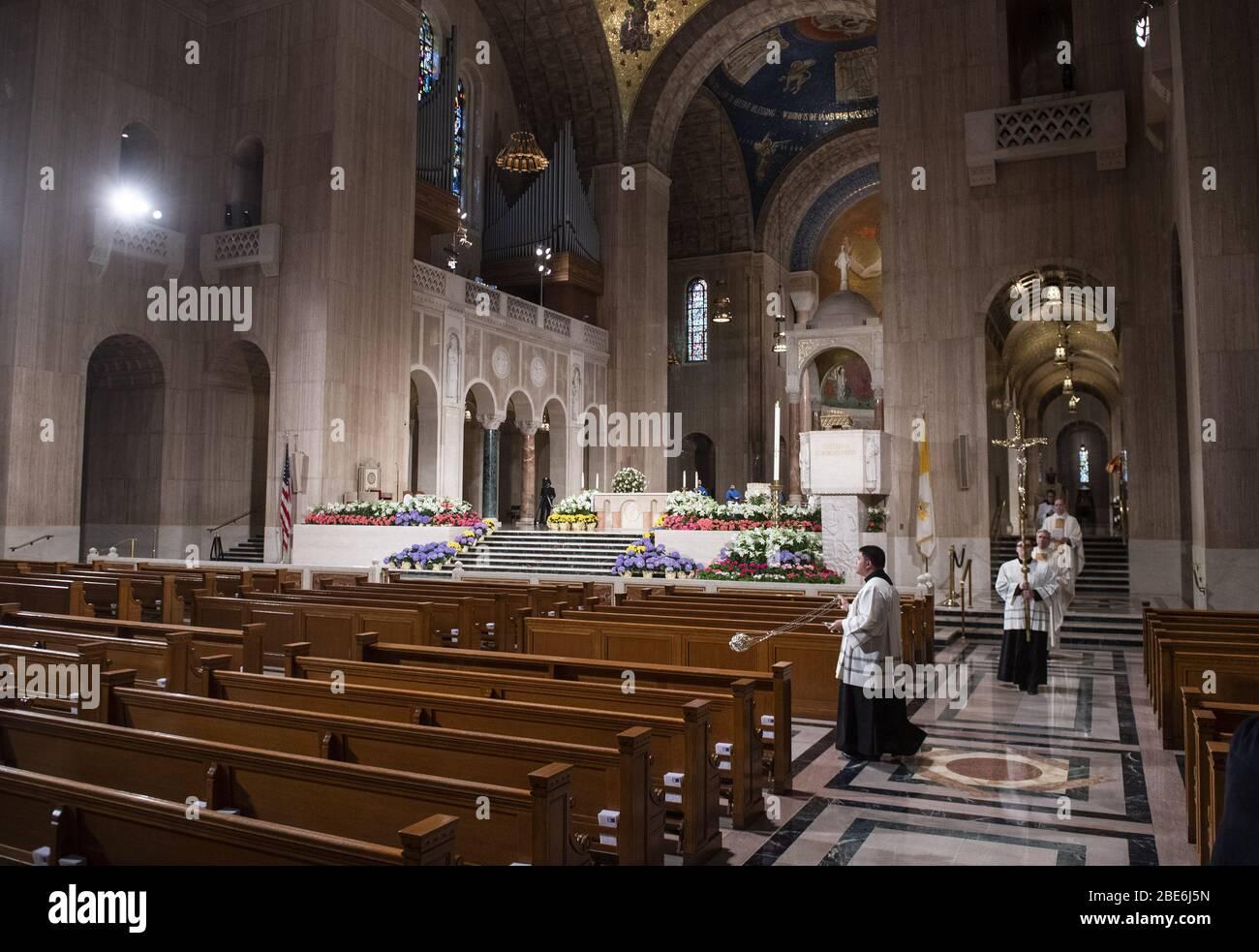 Wash Dc Shrine 2020 Christmas Concert Washignton, United States. 12th Apr, 2020. The Basilica of the