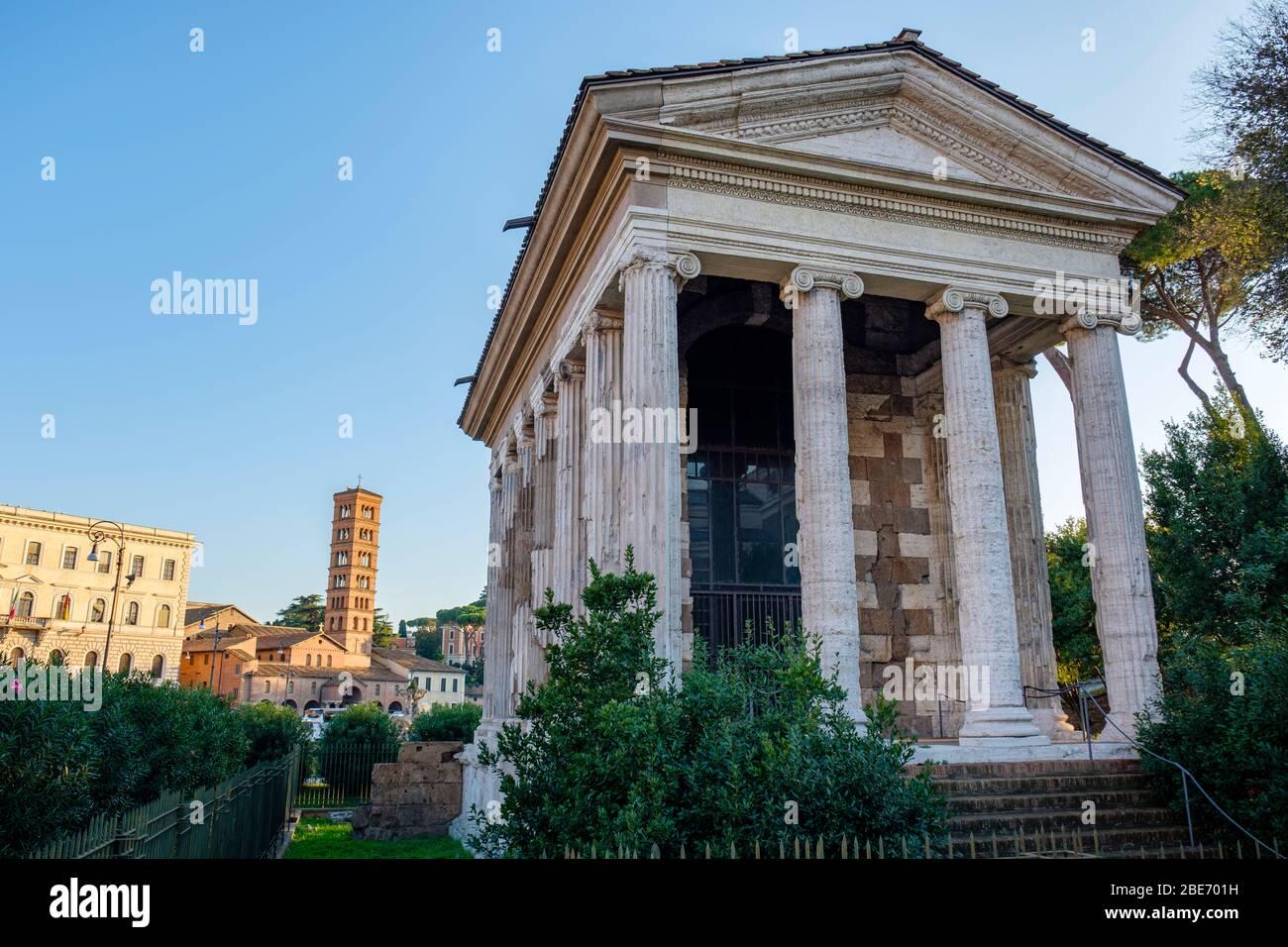 Temple Of Fortuna Virilis