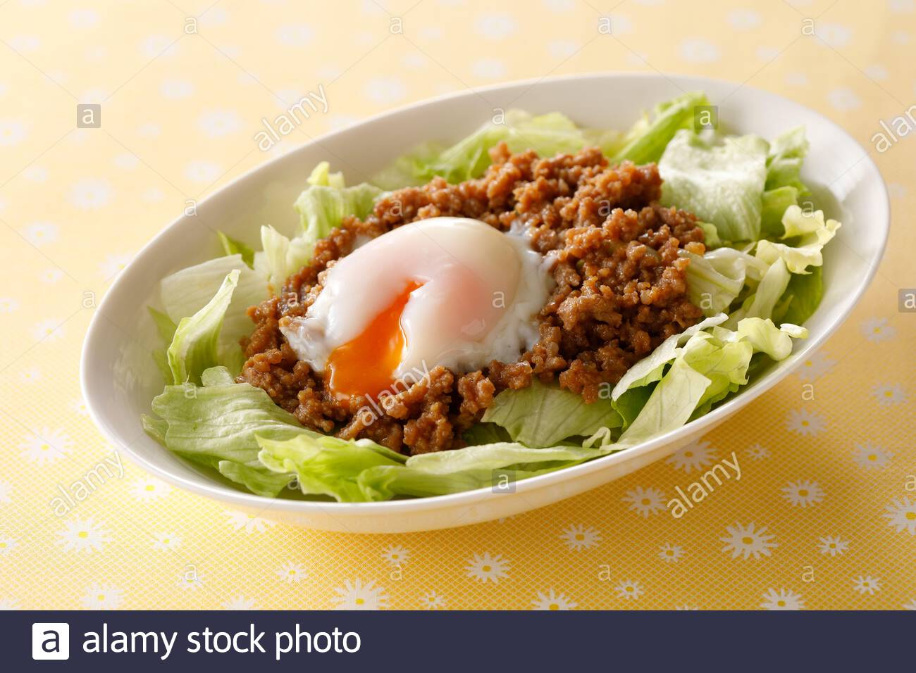 Taco Rice Stock Photo