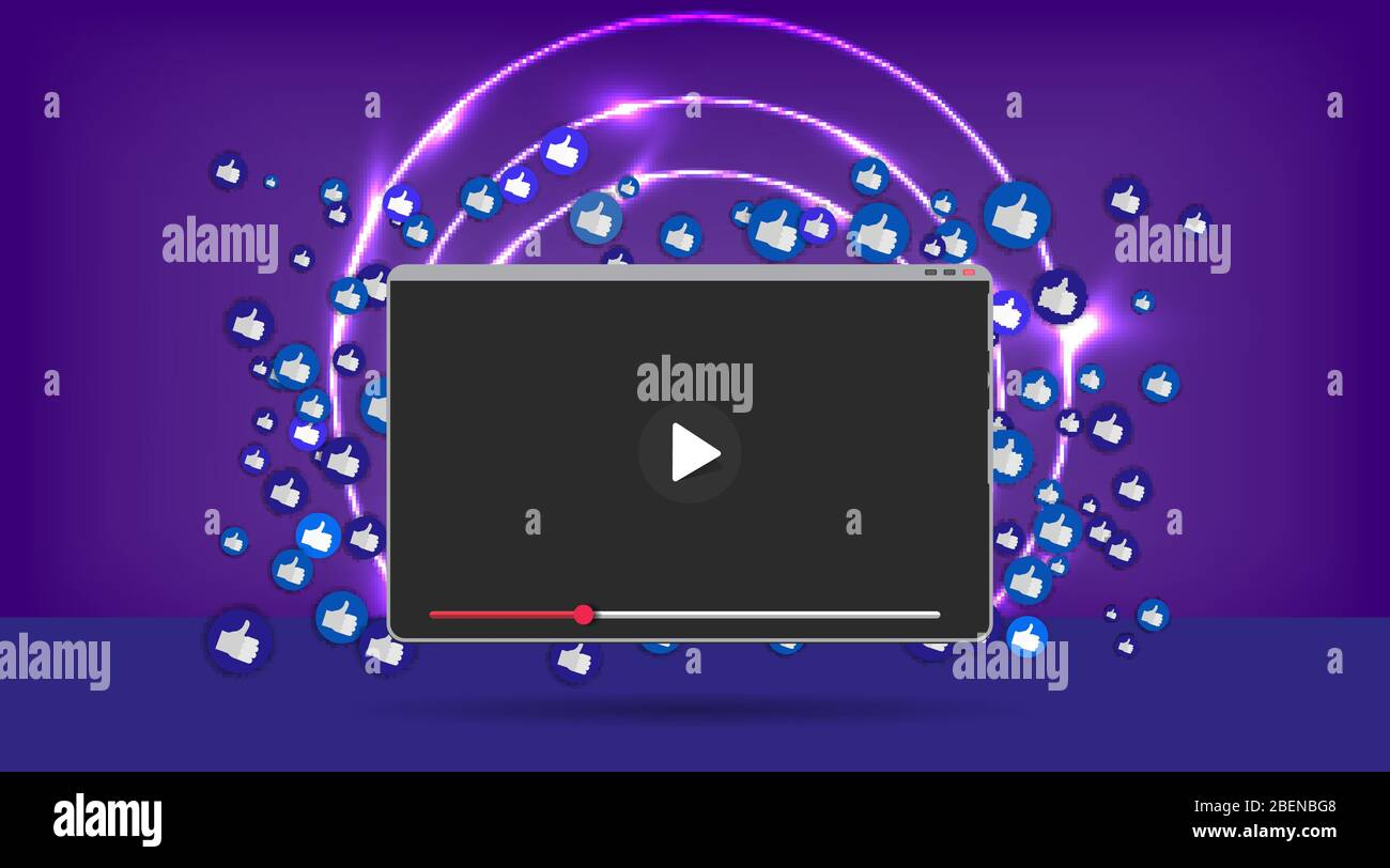 Video Screen Play Button Streaming Preview Template 3d With Likes And Hearts Happy Live Social Media Concept With Media Icons Chat Box And Crea Stock Vector Image Art Alamy,Moroccan Mint Tea Benefits