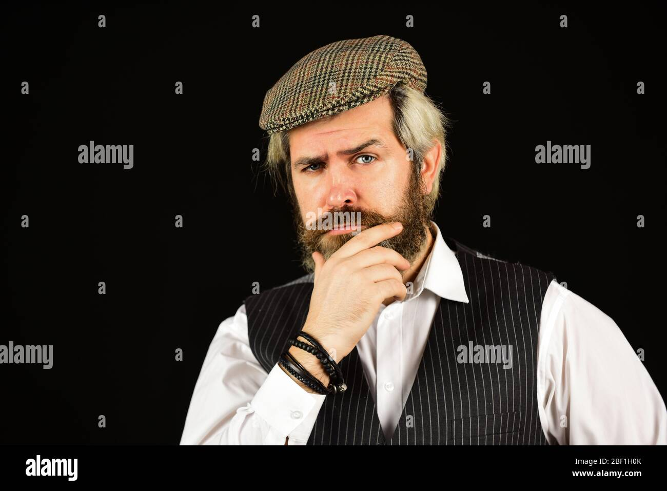 Farmer/'s Beard Brown Dress up Costume Facial hair