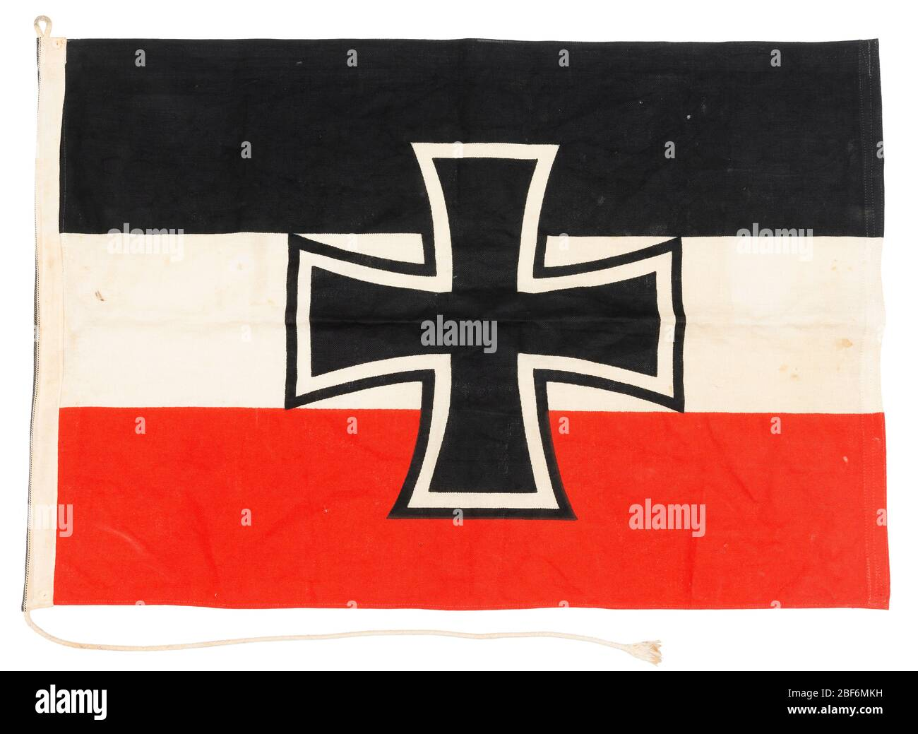 An Imperial German Navy Flag Or Jack From The Period 1903 To 1918 Stock Photo Alamy