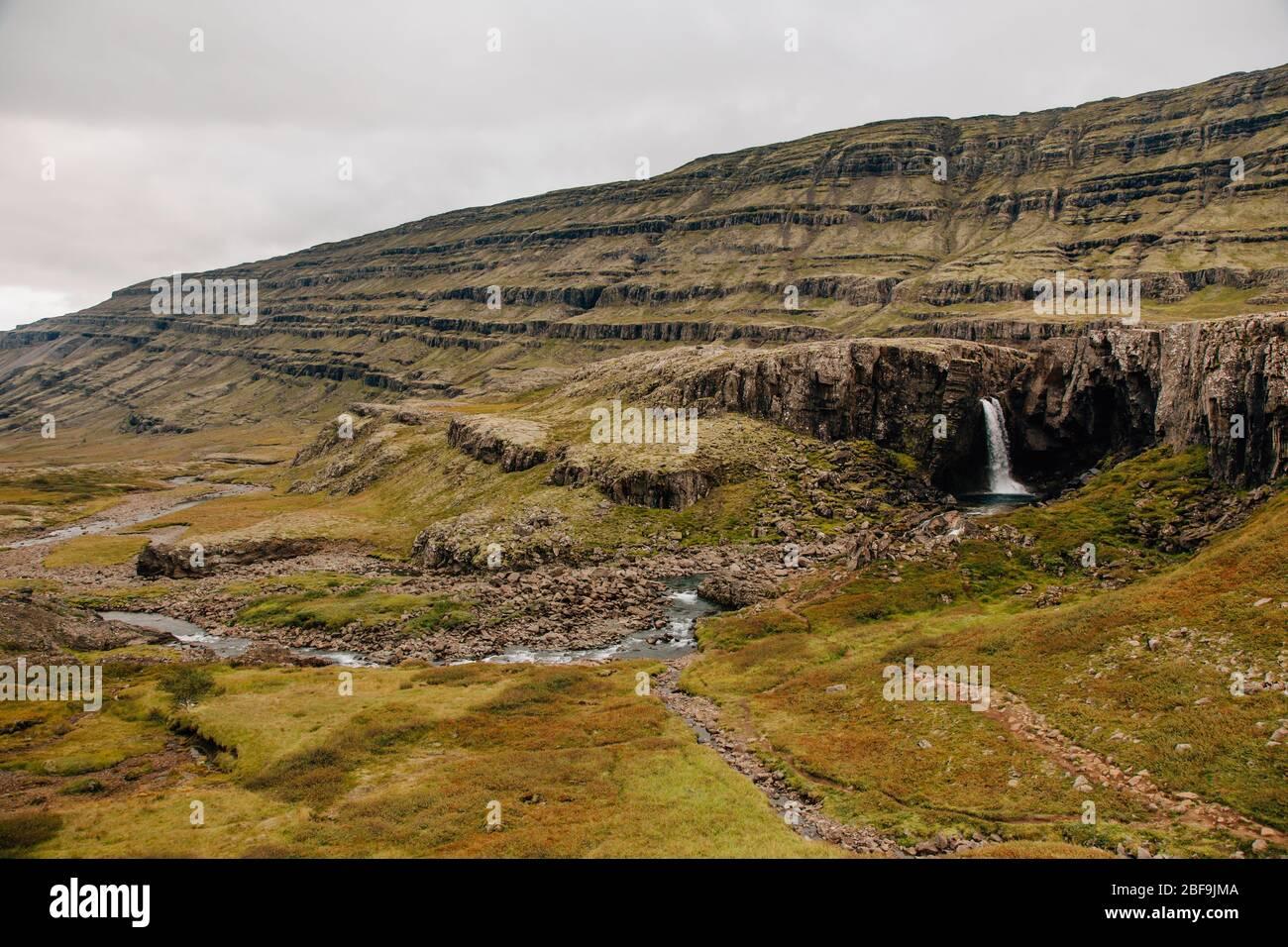Breathtaking nature of Iceland Stock Photo