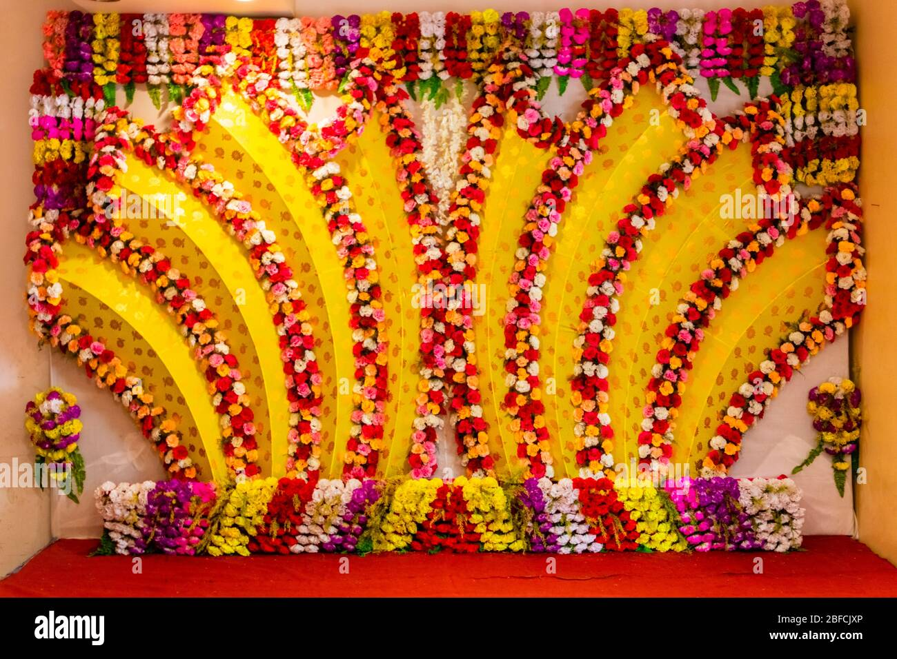 Indian Wedding Sofa High Resolution Stock Photography And Images Alamy