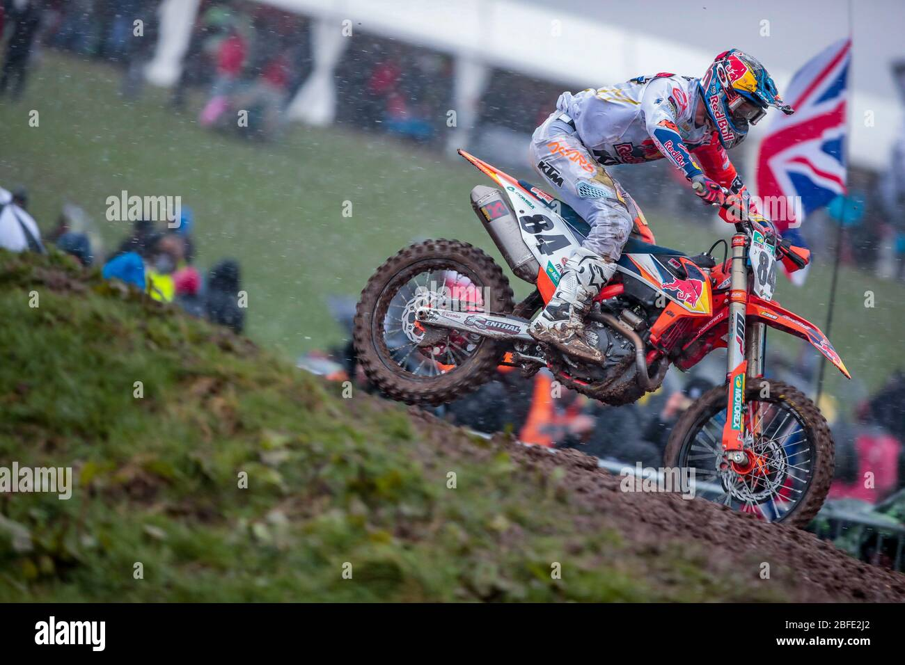 Winchester, Italy. 01st Mar, 2020. jaffrey herlings (hol) ktm factory racing during MXGP of Great Britain, Motocross in winchester, Italy, March 01 2020 Credit: Independent Photo Agency/Alamy Live News Stock Photo