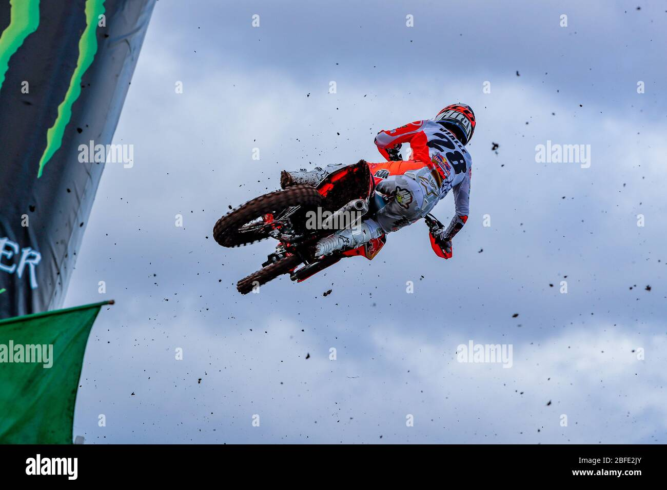 Winchester, Italy. 01st Mar, 2020. tom vialle (fra) team ktm factory racing during MXGP of Great Britain, Motocross in winchester, Italy, March 01 2020 Credit: Independent Photo Agency/Alamy Live News Stock Photo