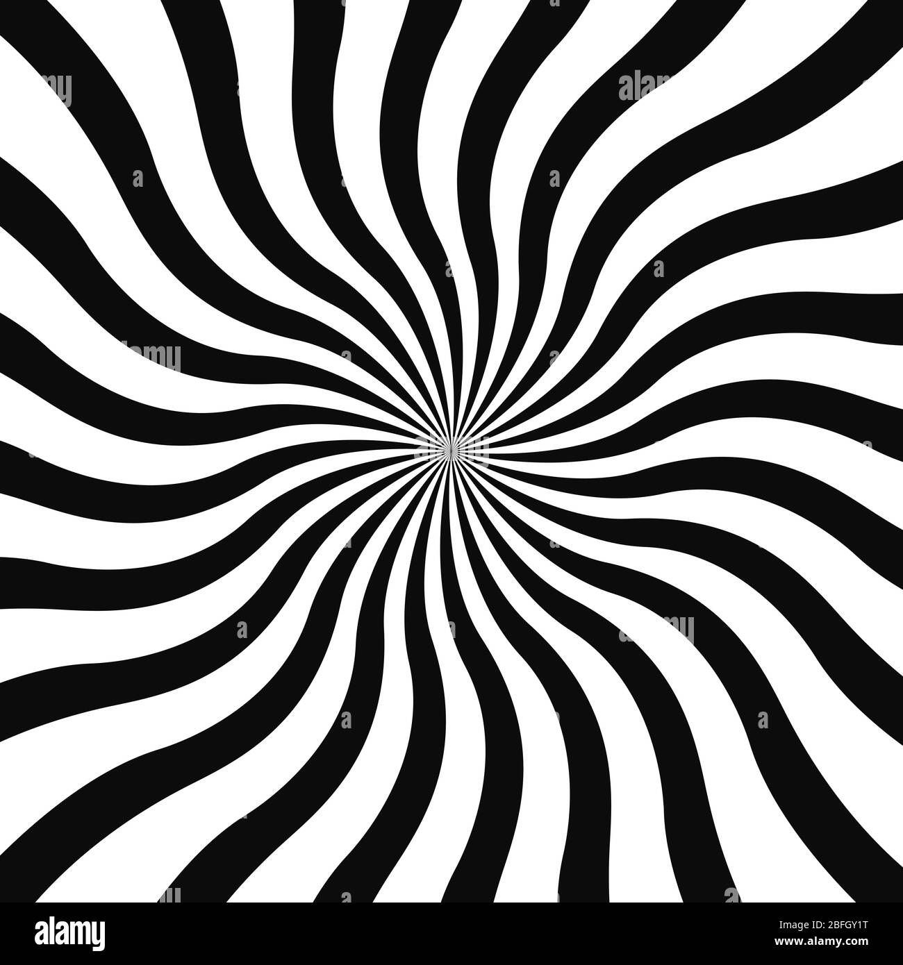 Abstract Optical Illusion Background Vector Design Psychedelic Striped Black And White Backdrop Hypnotic Pattern White And Black Beam Style Background Vector Stock Vector Image Art Alamy