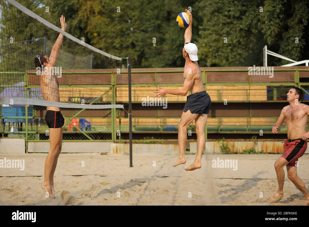 Beach Volleyball Field High Resolution Stock Photography And Images Alamy