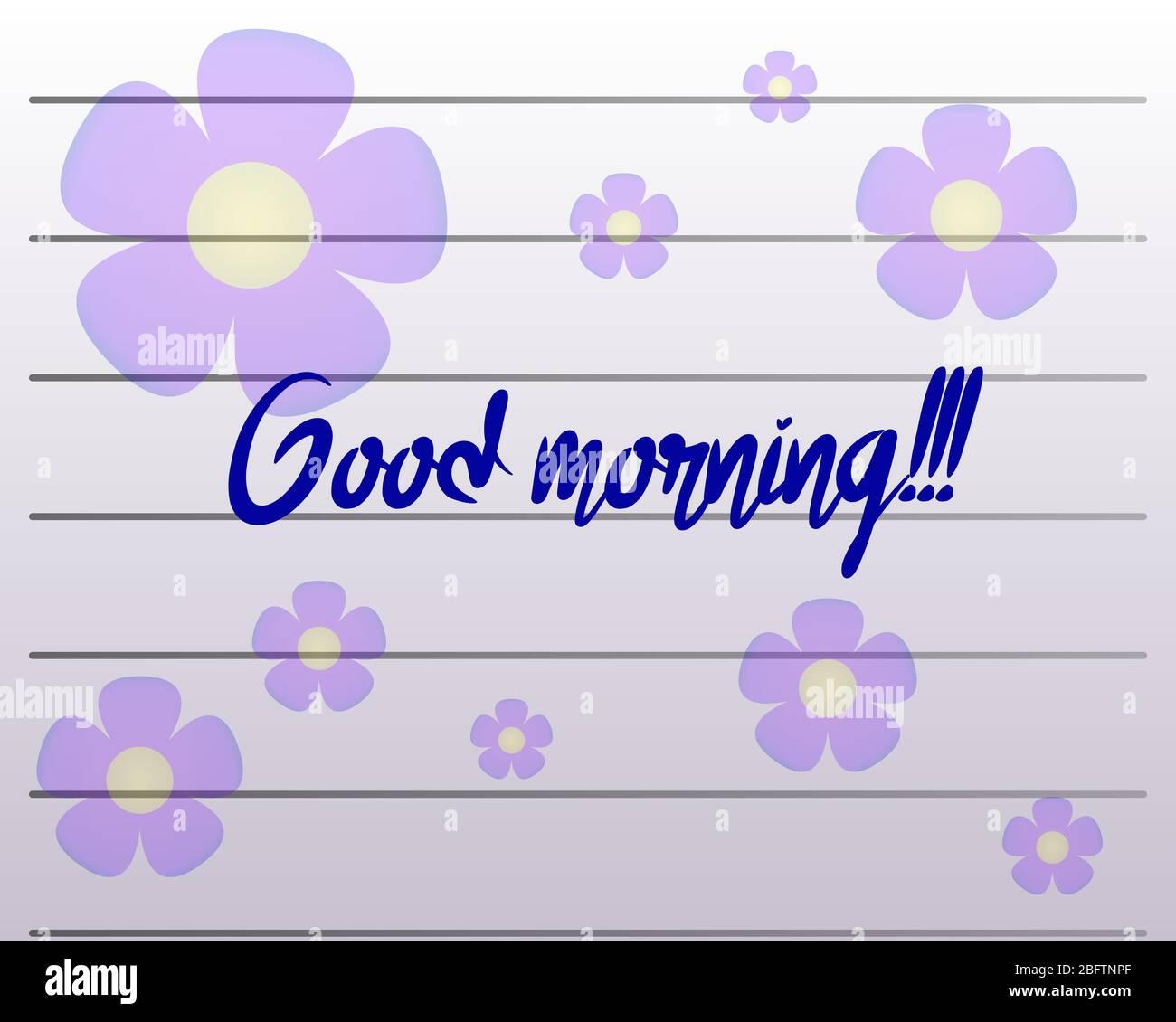Good morning like
