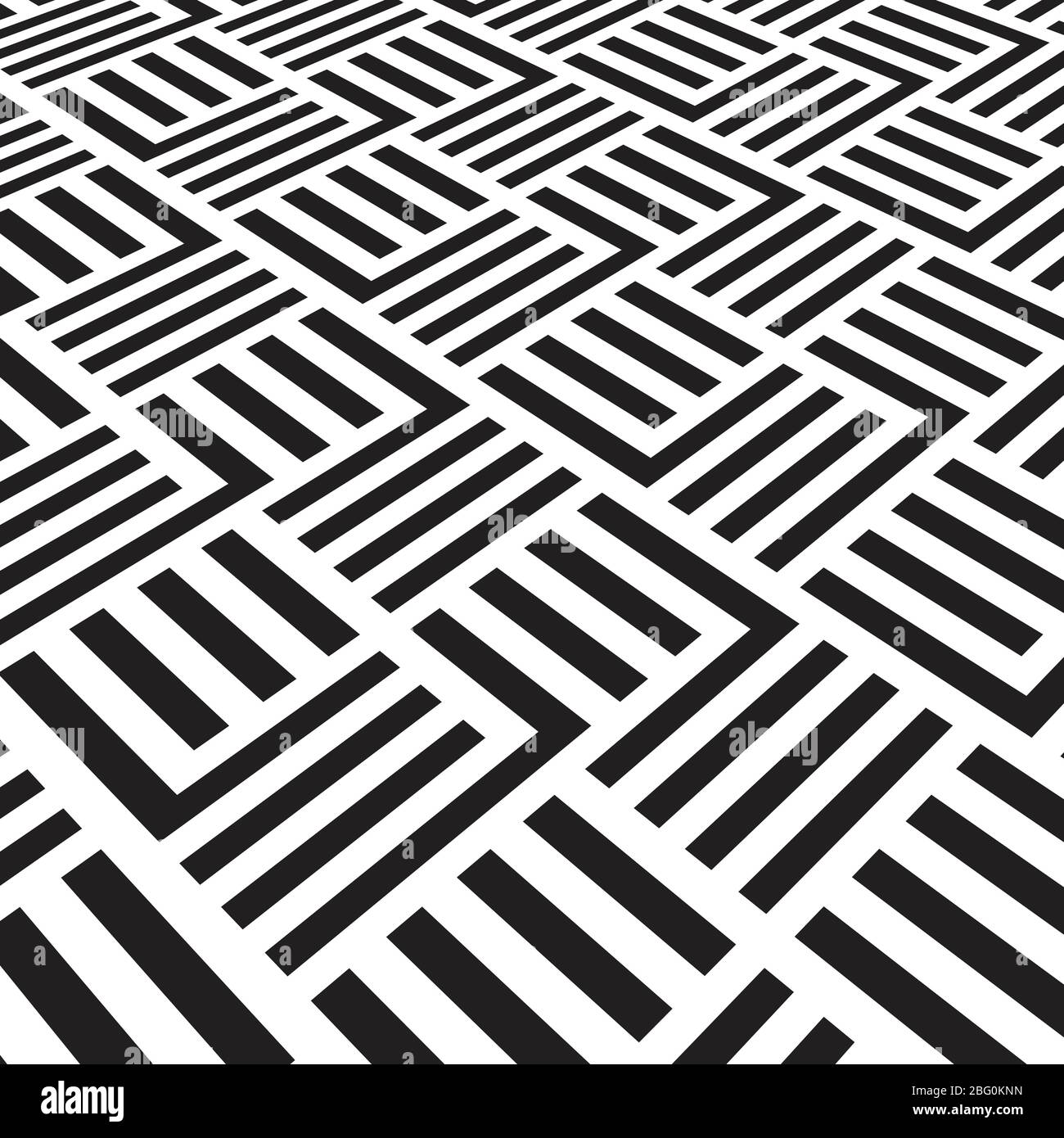 Black And White Geometric Pattern With Stripes Vector Striped Carpet Wallpaper Illustration Of Tile Pattern Ot Carpet Stock Vector Image Art Alamy