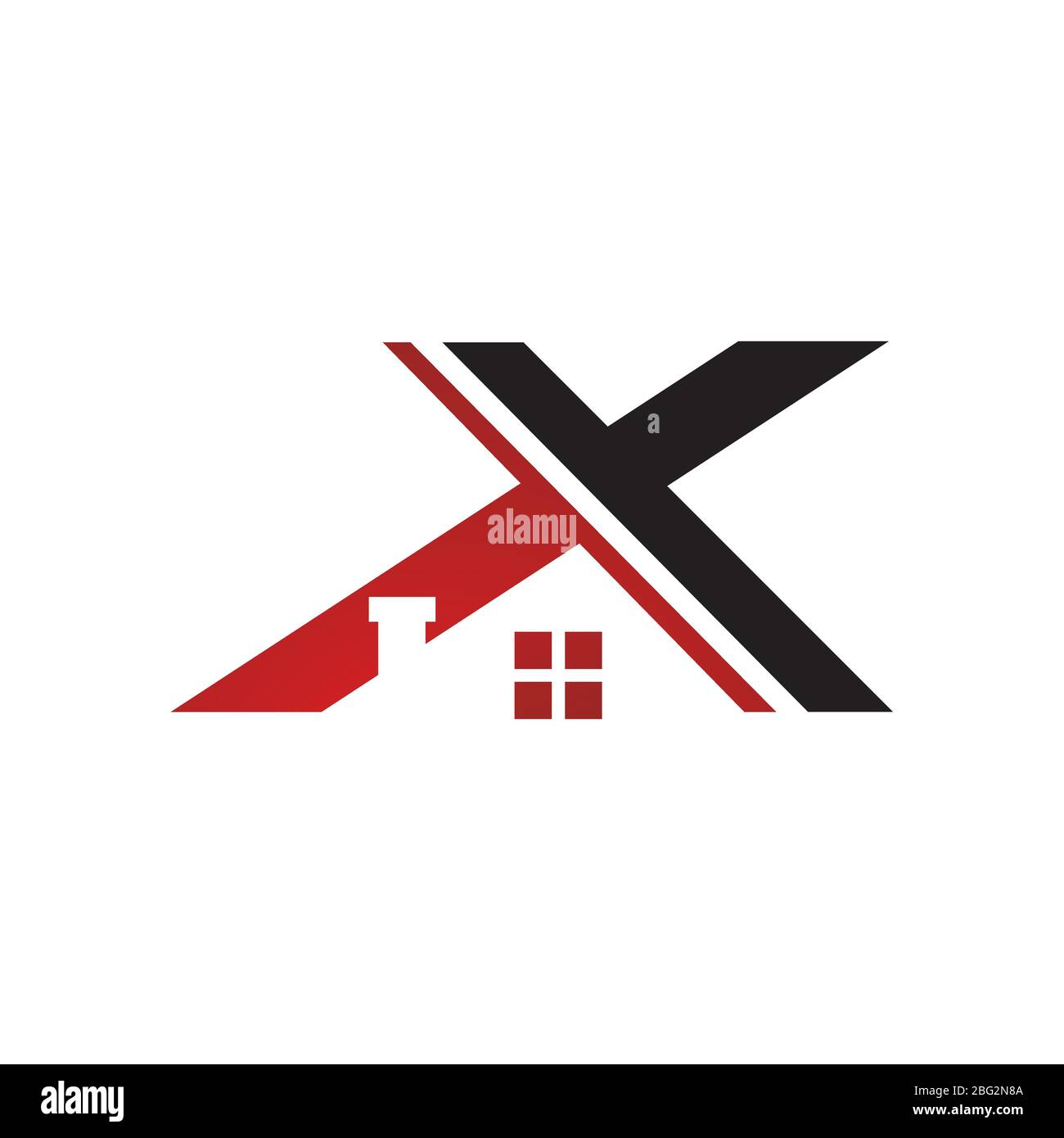 Creative Company Letter X Logo The Combination Of Modern Roof And Initial X Vector Icon Design Illustration Stock Vector Image Art Alamy