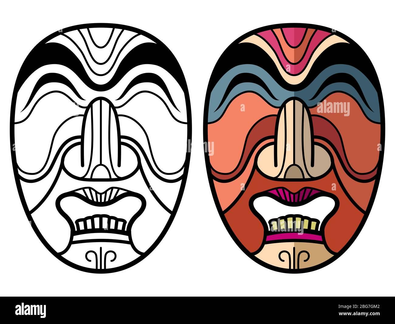 Print Adult Totem Inspiration Inca Mayan Aztec 6 Coloring Pages ...   1065x1300