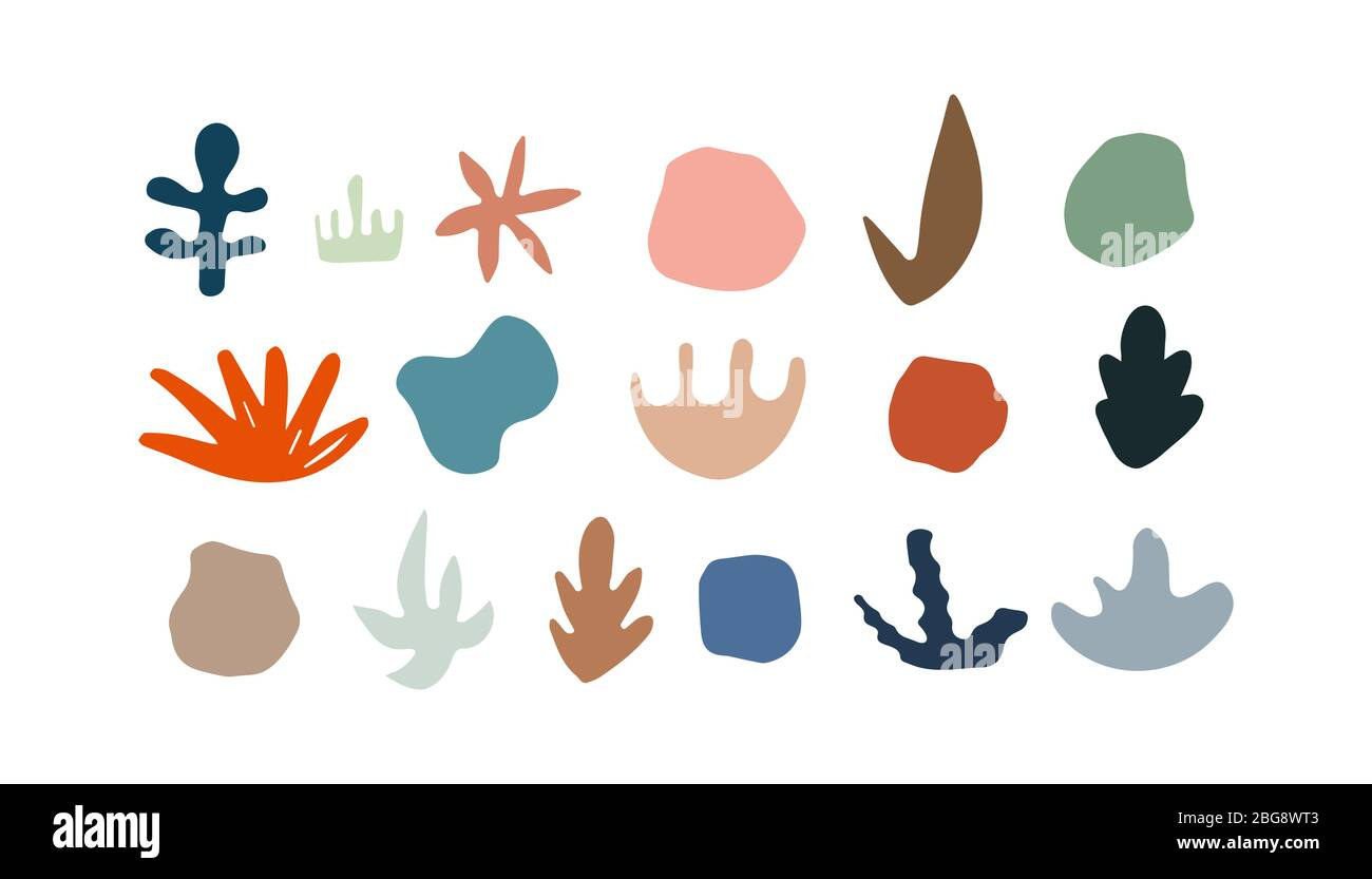 Set Of Vector Abstract Shapes Hand Drawn Nature Elements Organic Forms Vector Artistic Blob Design Stock Vector Image Art Alamy Find over 100+ of the best free abstract shapes images. https www alamy com set of vector abstract shapes hand drawn nature elements organic forms vector artistic blob design image354237747 html