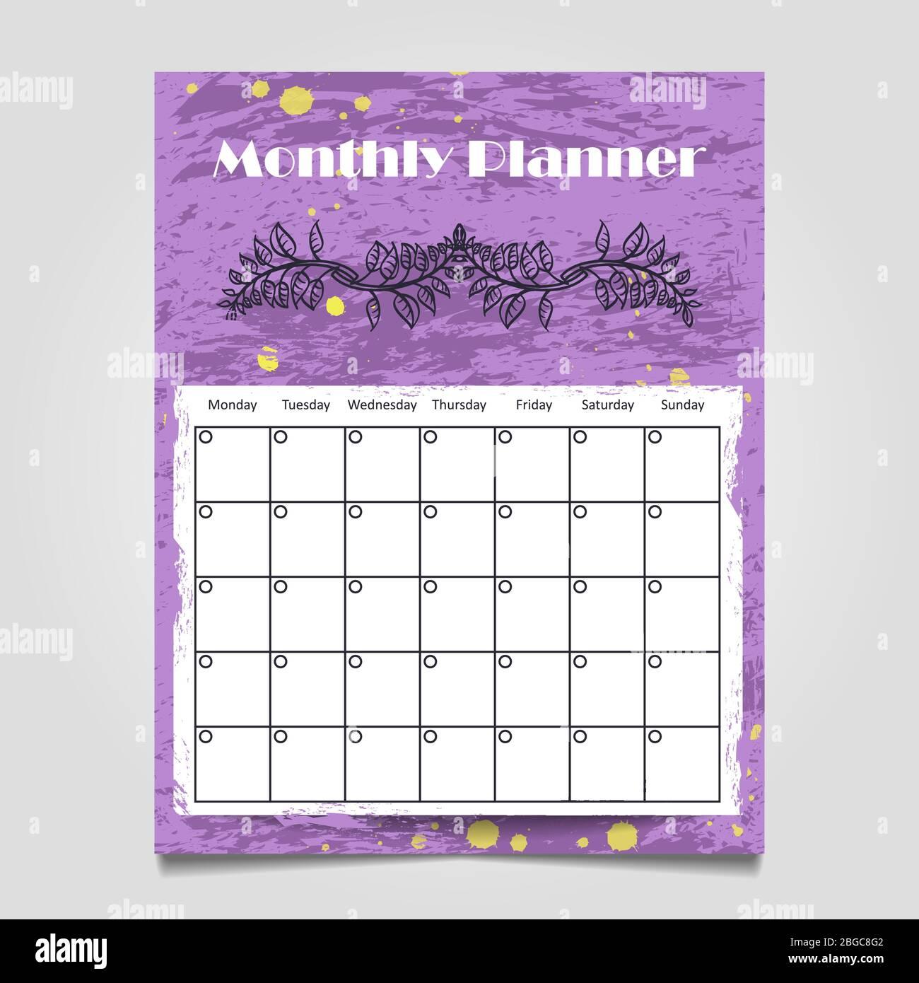 Organizer Calendar