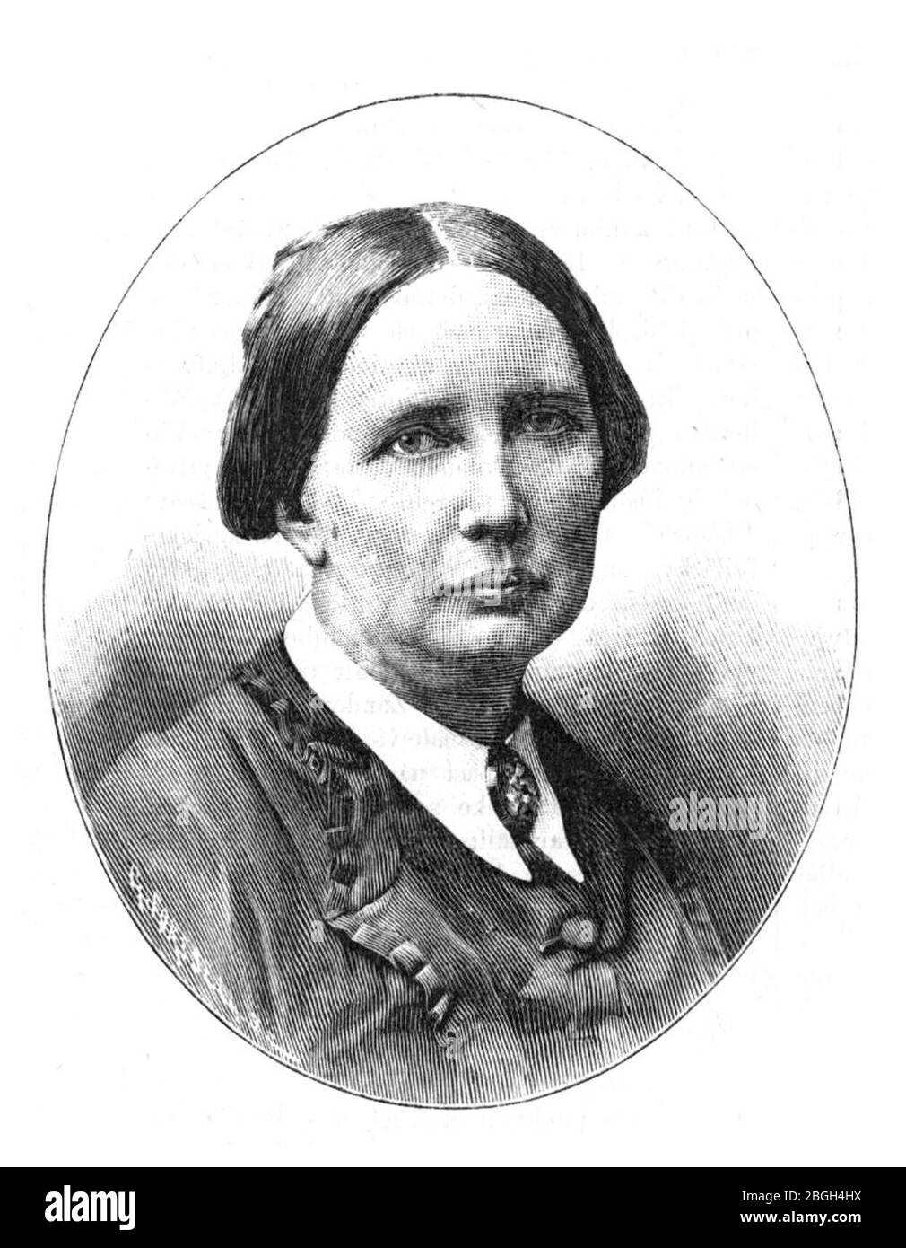 Hilma Zander Idun 1894, nr 10. Stock Photo