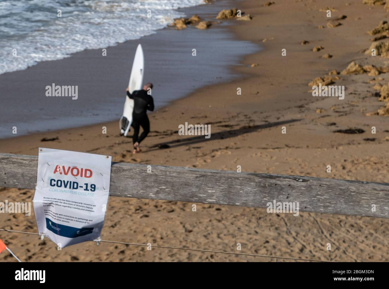 Beaches Closed Signs High Resolution Stock Photography And Images