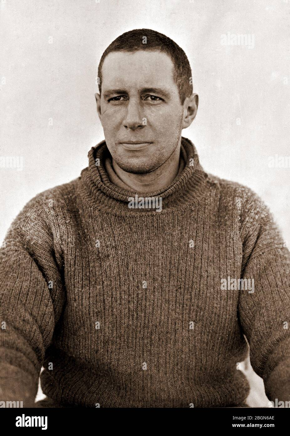 LAWRENCE OATES (1880-1912) British army officer and antarctic explorer who died on Scott's Terra Nova Expedition. Stock Photo