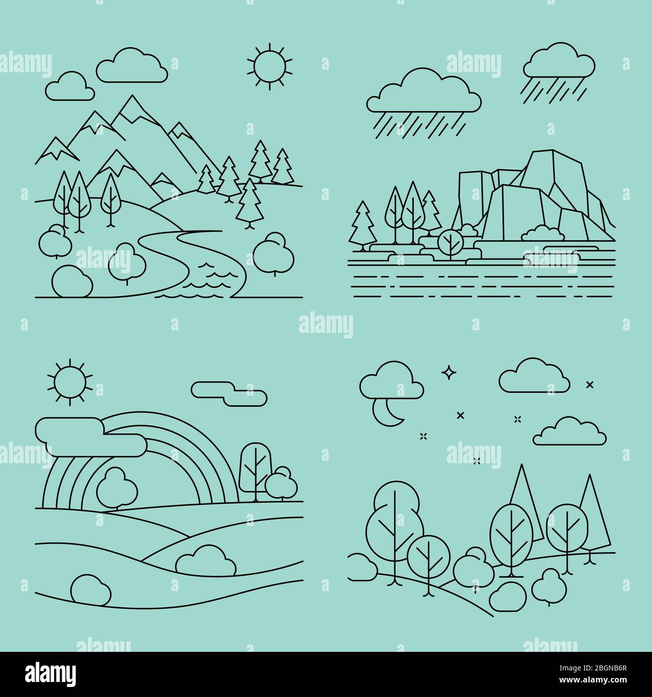 28+ River Vector Drawing