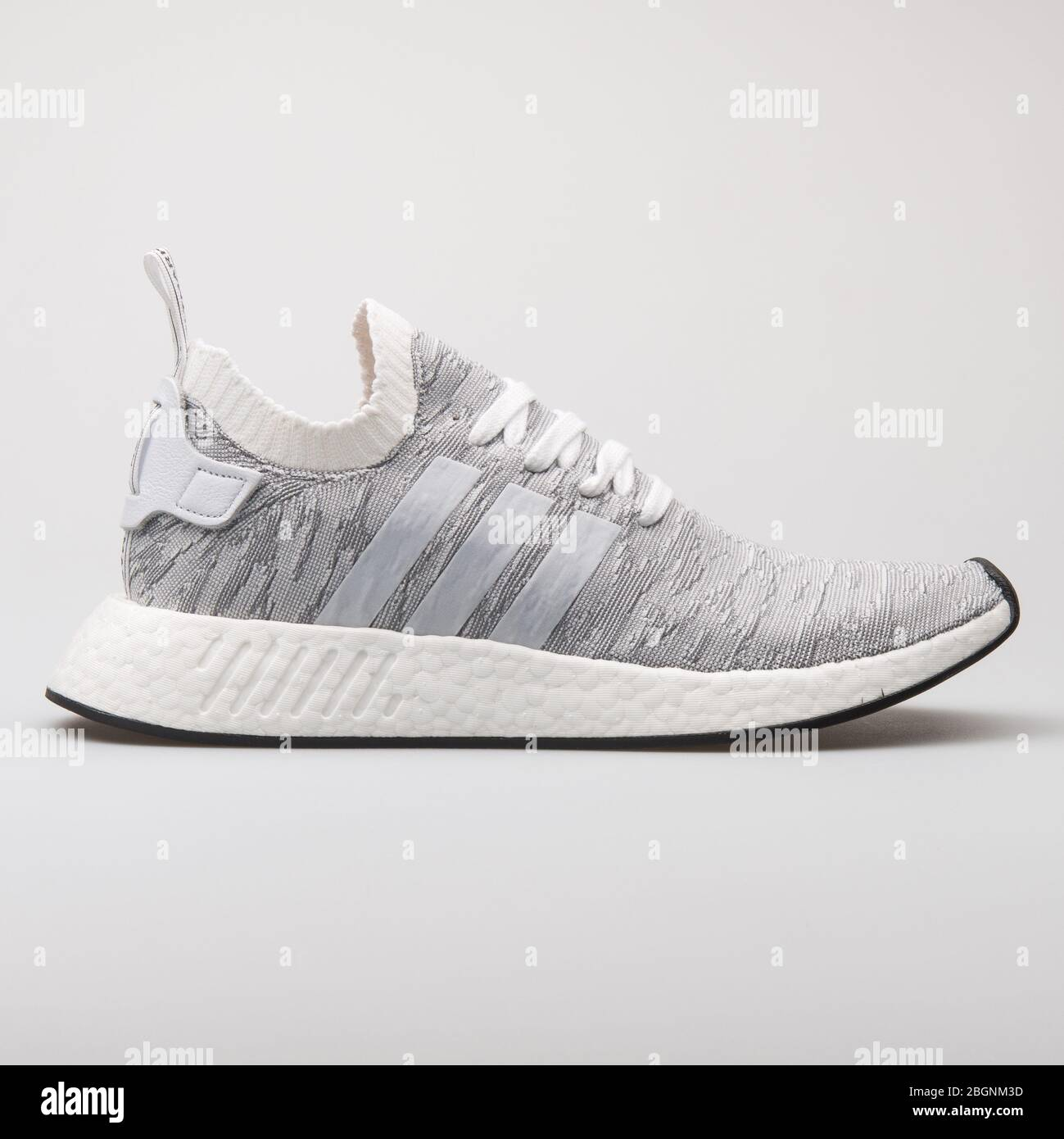 Vienna Austria August 6 2017 Adidas Nmd R2 Pk White And Grey