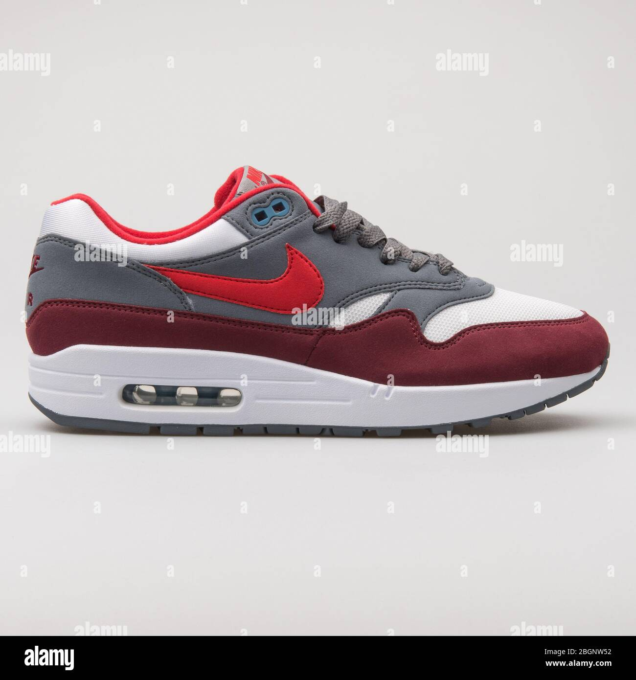 Nike Air Max 1 Premium white, grey, red